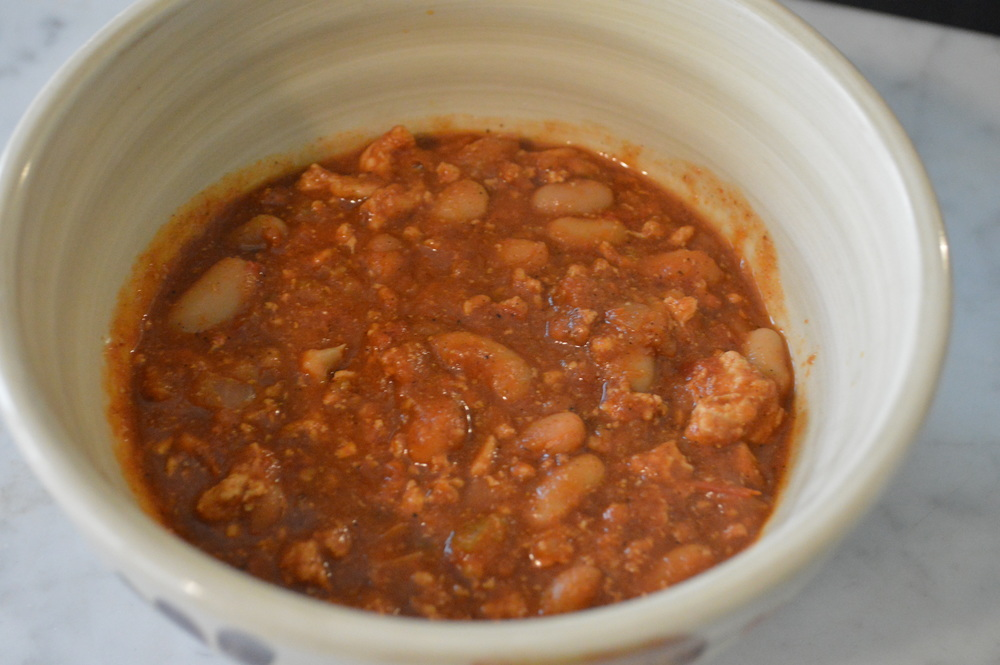 Turkey + White Bean Chili