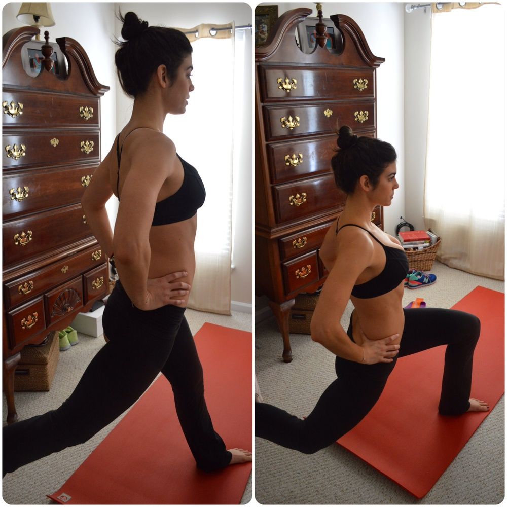 Split Squats - Lauren Schwaiger