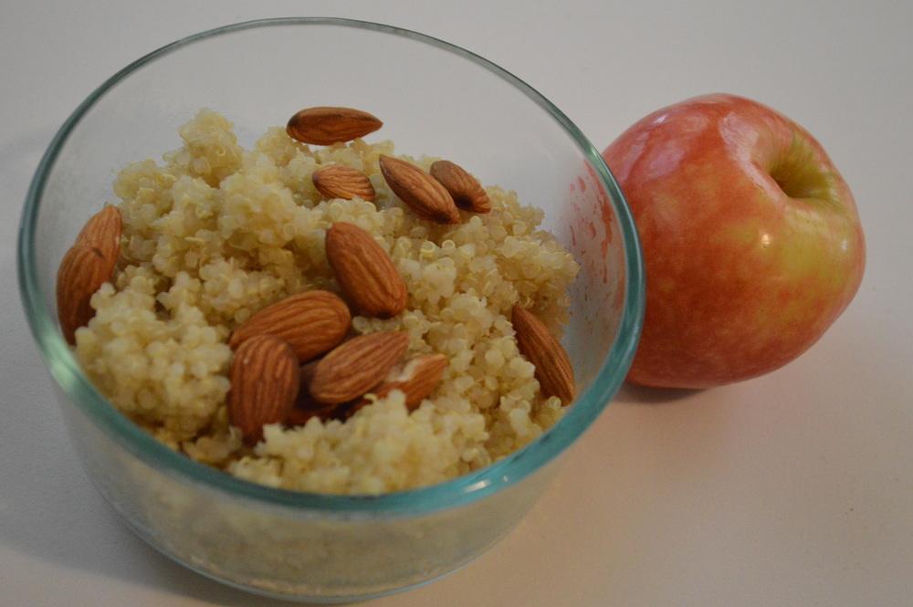 Quinoa + Apple Snack