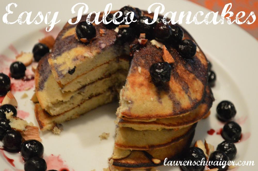 Easy Paleo Pancake Recipe - laurenschwaiger.com