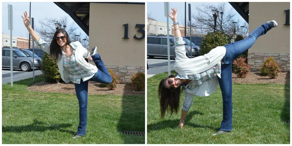 Yoga Silliness - Lauren Schwaiger