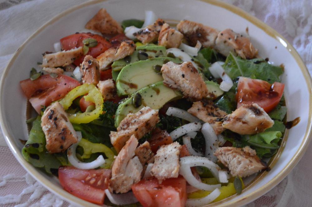 Power Greens Chicken Salad