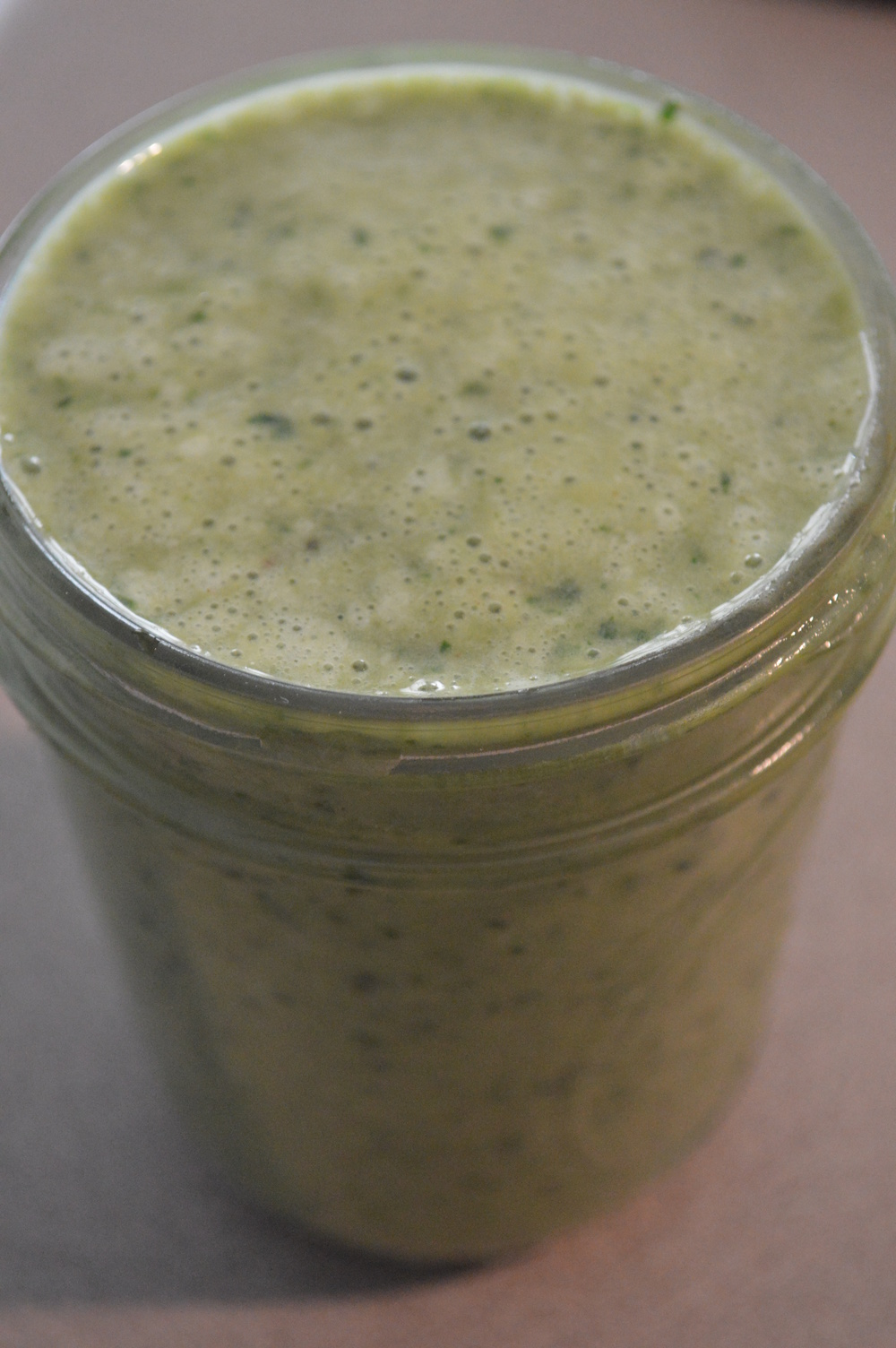 Vanilla Protein Green Smoothie