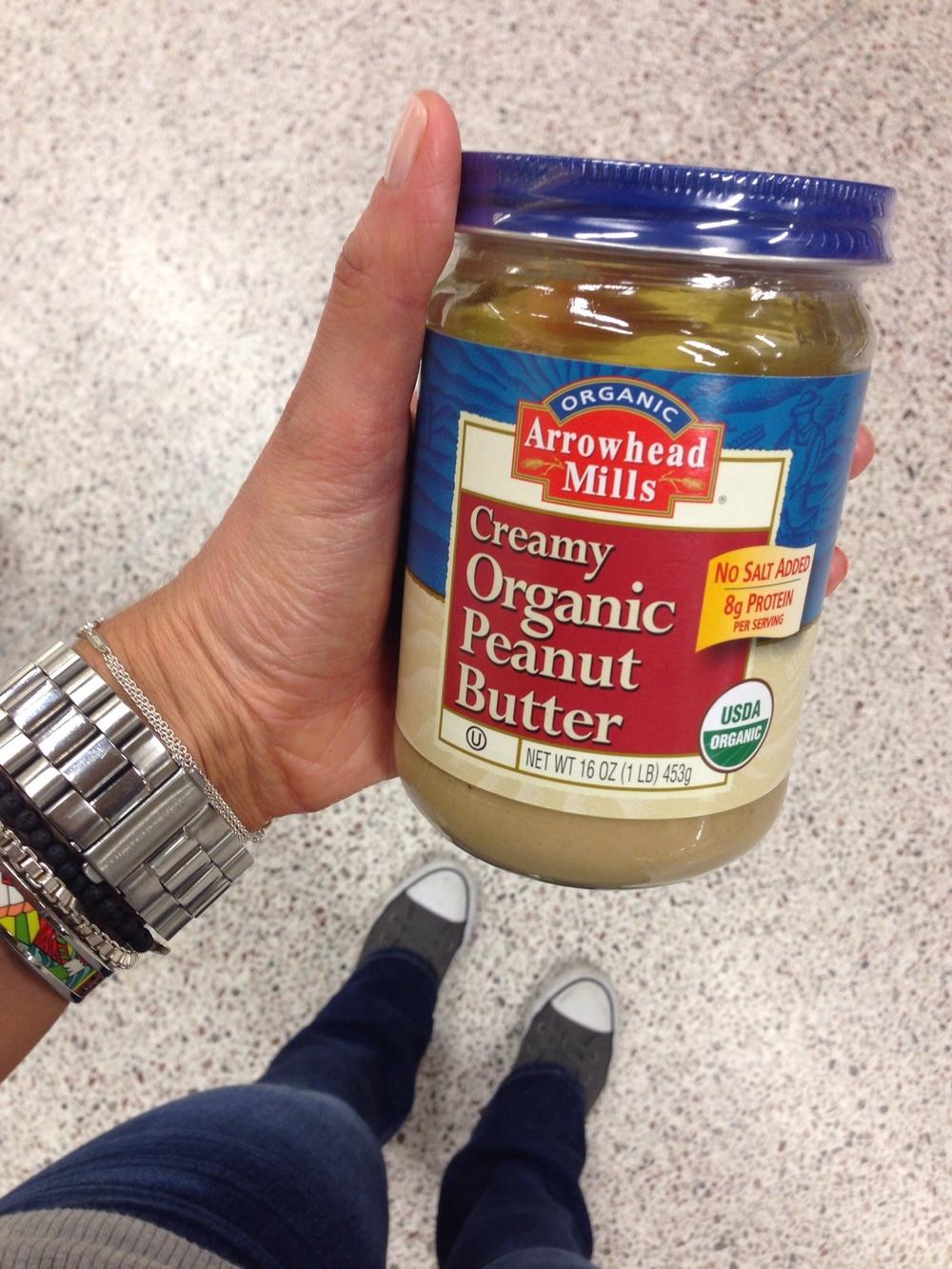 Arrowhead Mills Organic Peanut Butter