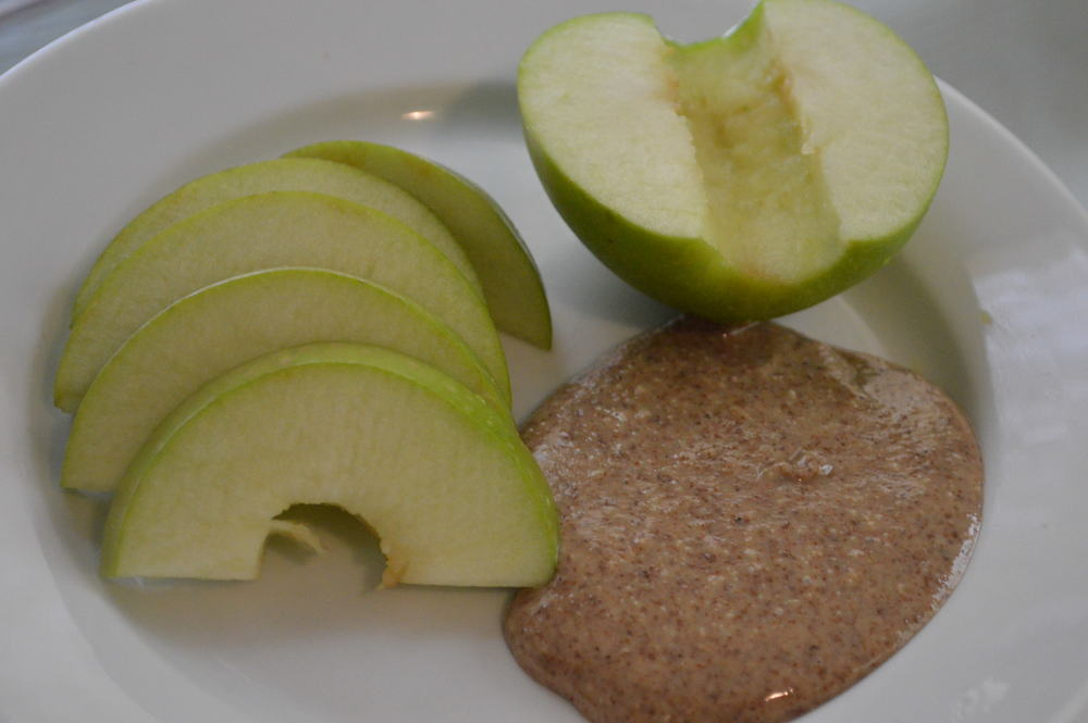 Apple + Almond Butter