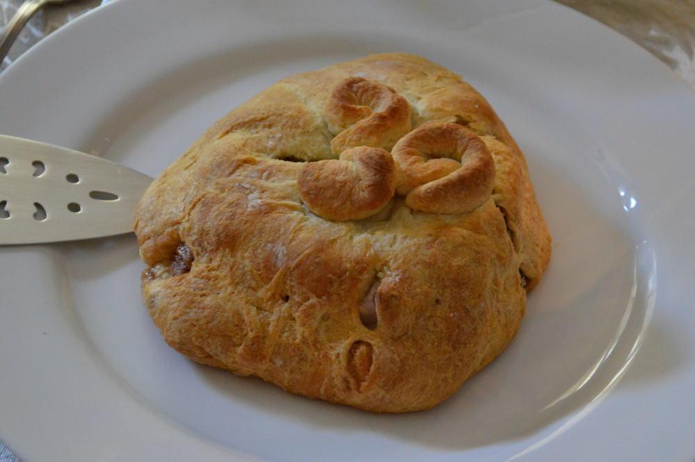 Brie En Croute - Baked Brie