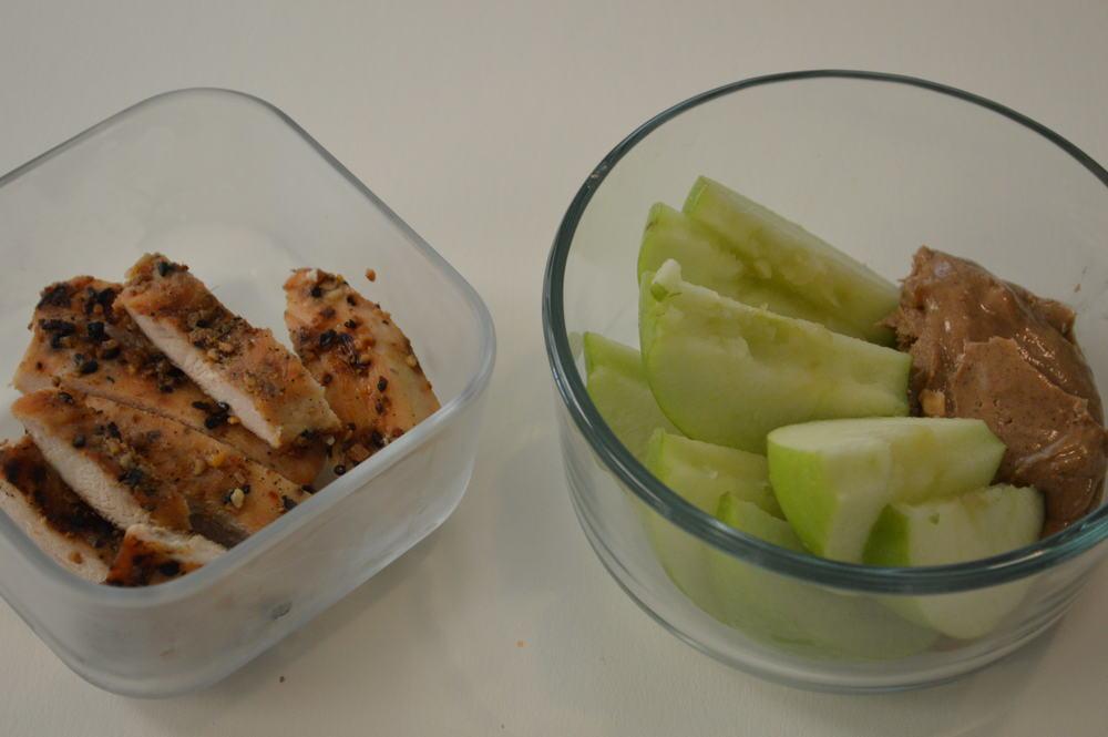 chicken + apple & AB