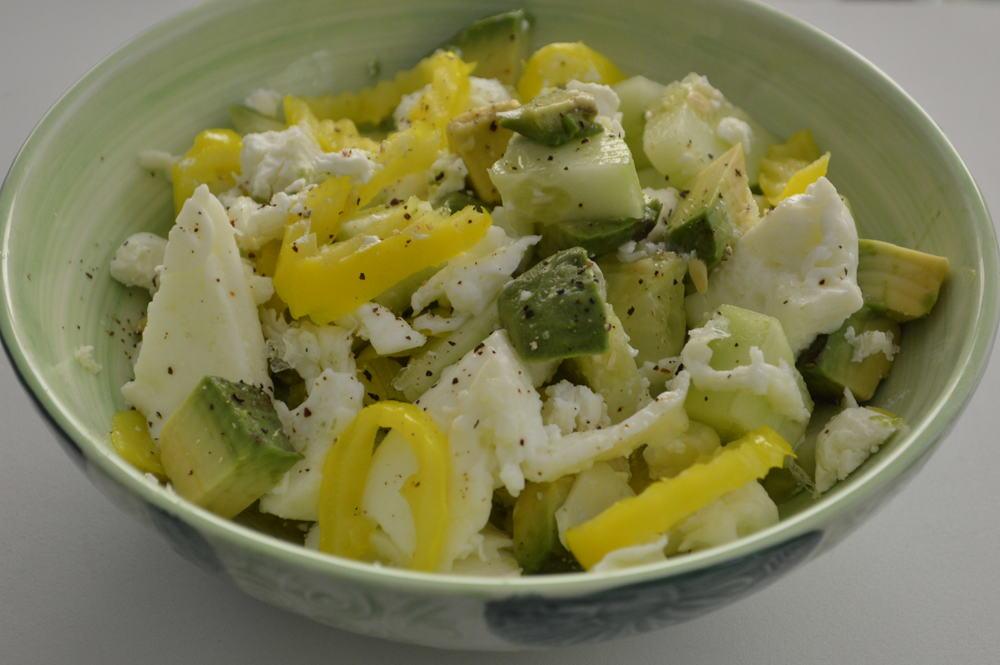 Cucumber + Avo + Egg Whites