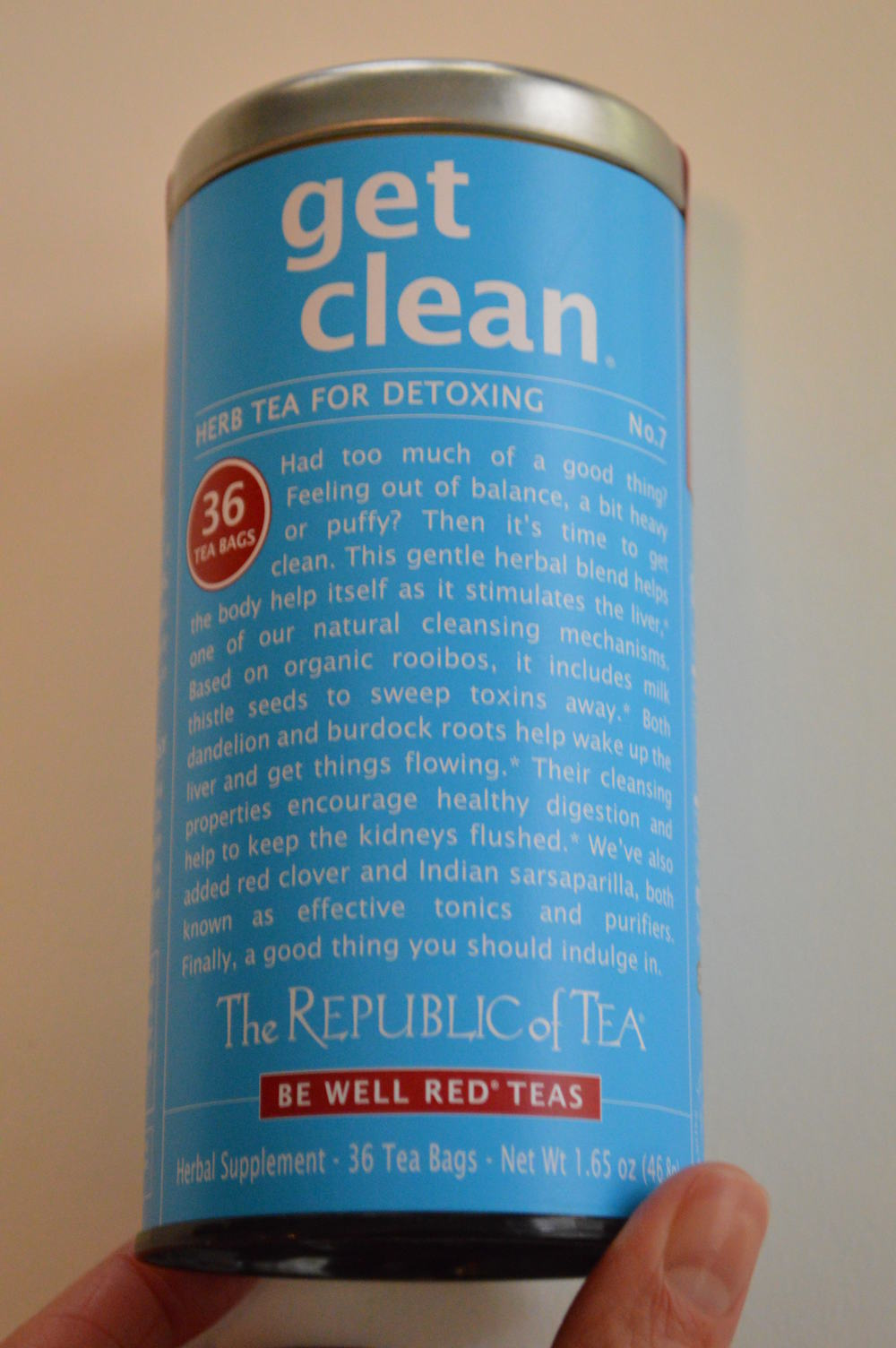 Get Clean - The Republic of Teas
