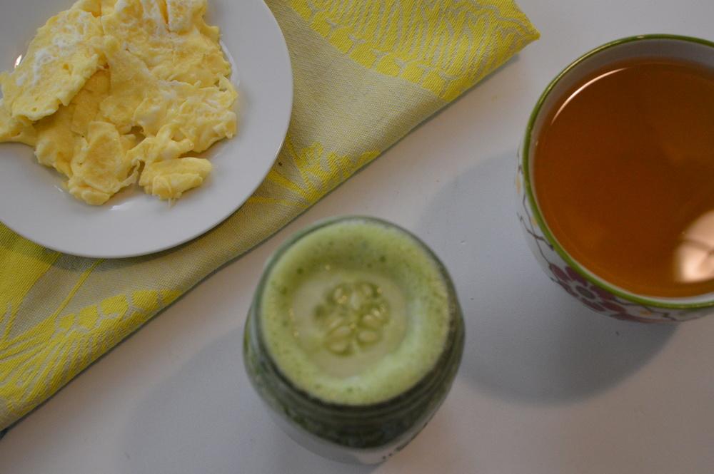 Green Eggs - Lean & Green Brek