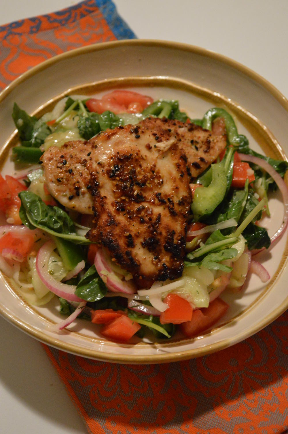 Grilled Chicken Salad - C;ean Eating