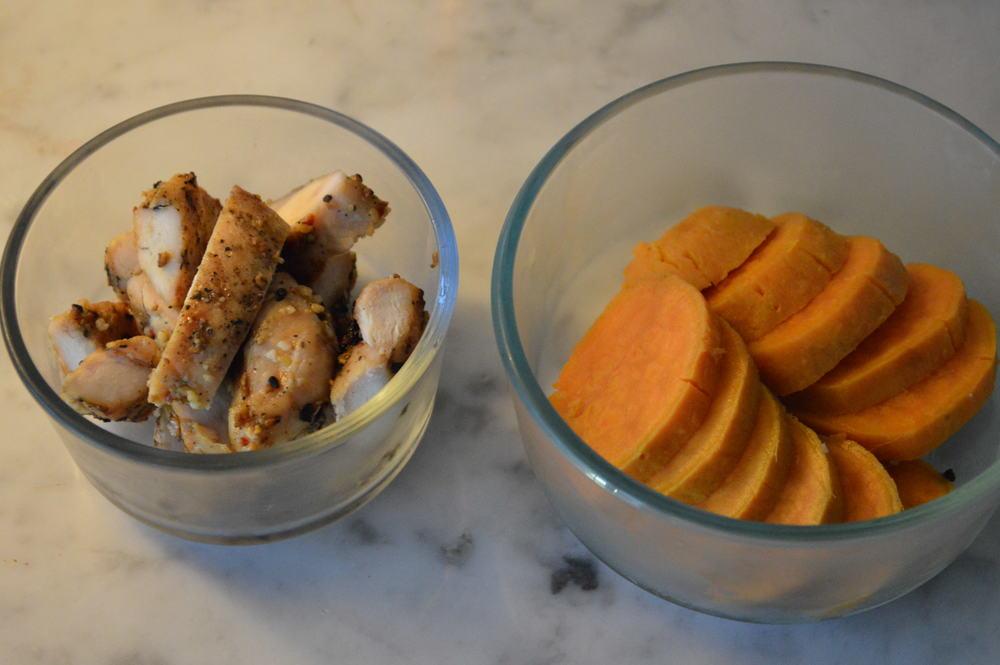 Chicken + Sweet Potato