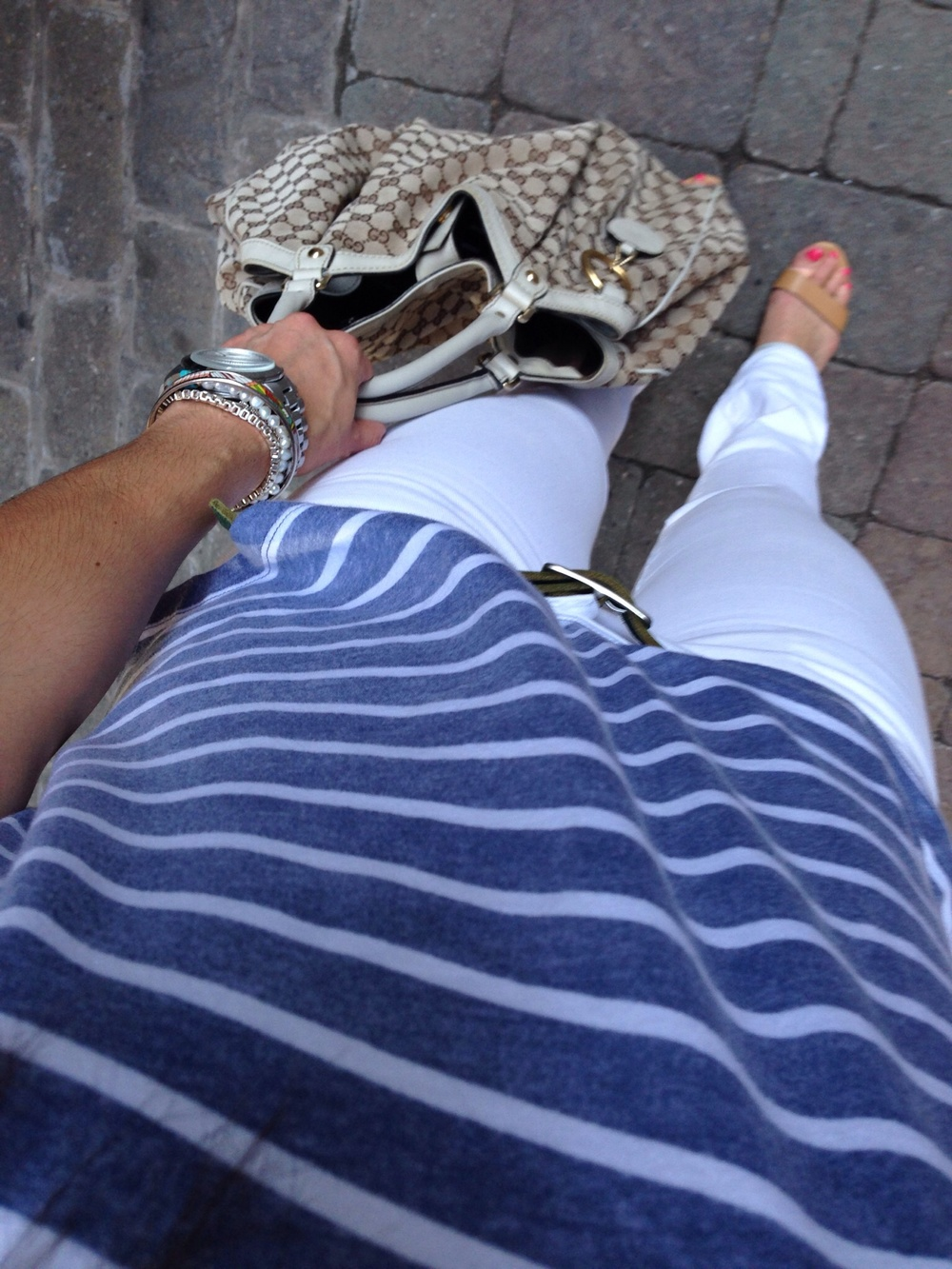 White + Stripes - Spring Style - Lauren Schwaiger