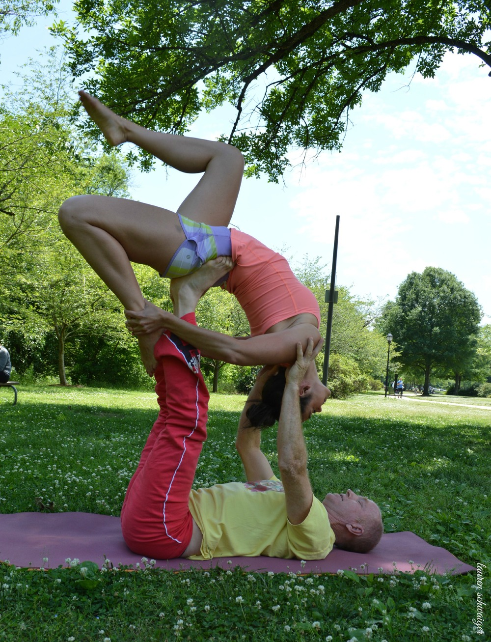 Acro Yoga - Lauren Schwaiger