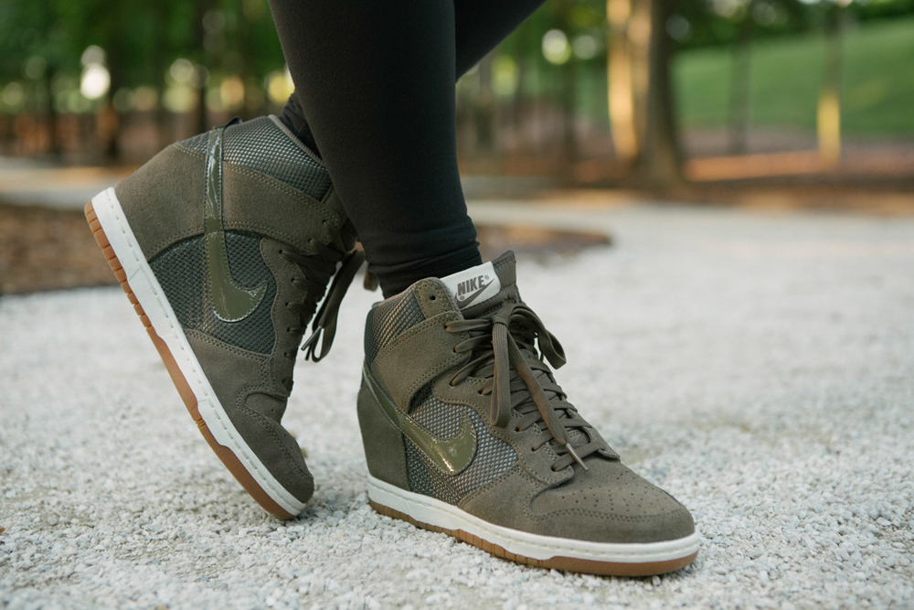 Nike Wedge Sneakers - Lauren Schwaiger