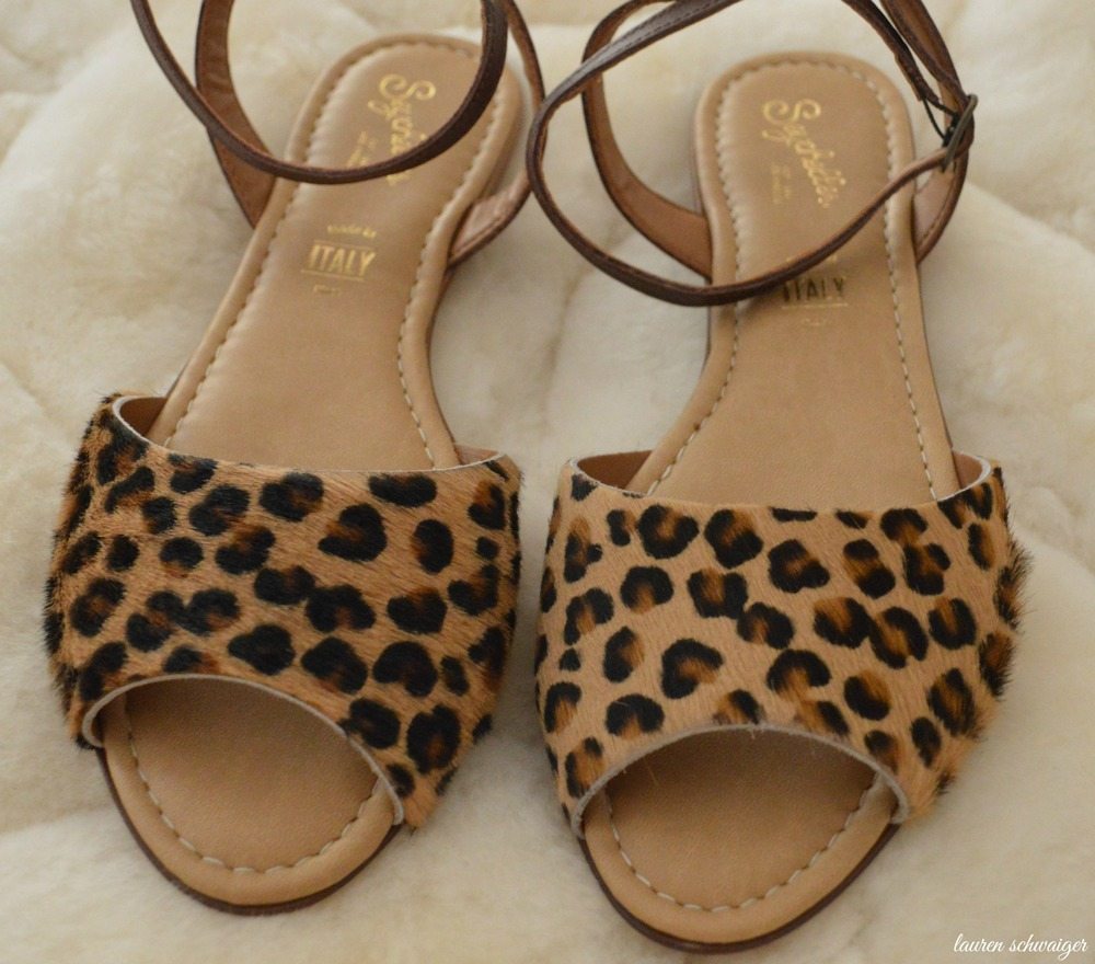Seychelles - Leopard Print Sandals