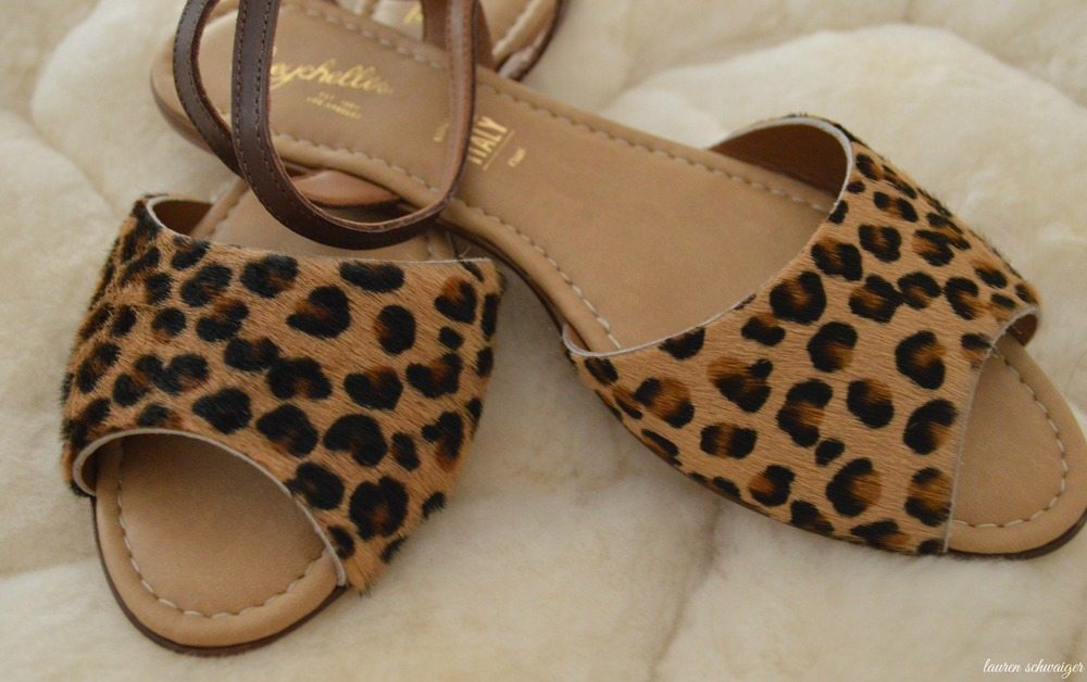 Leopard Print Sandals - Seychelles