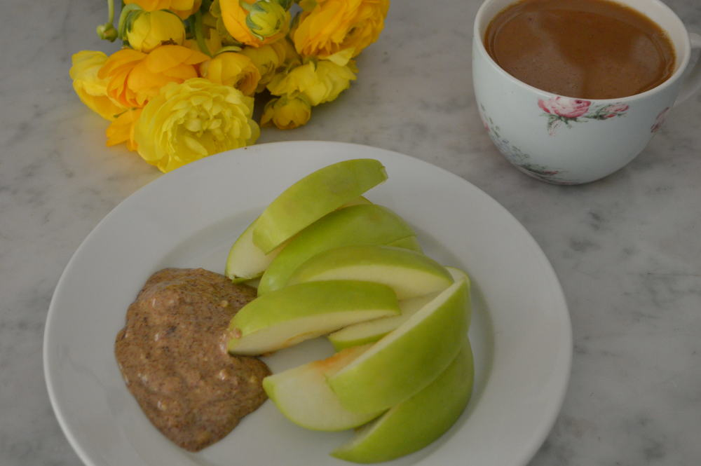 apple & almond butter