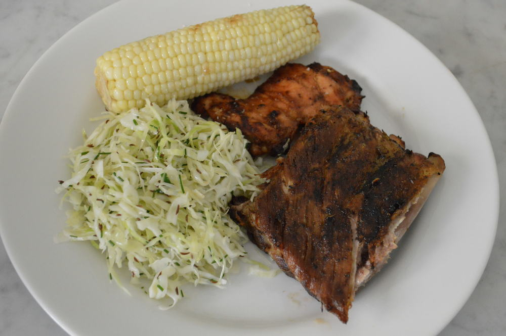 Fathers Day Plate - Ribs