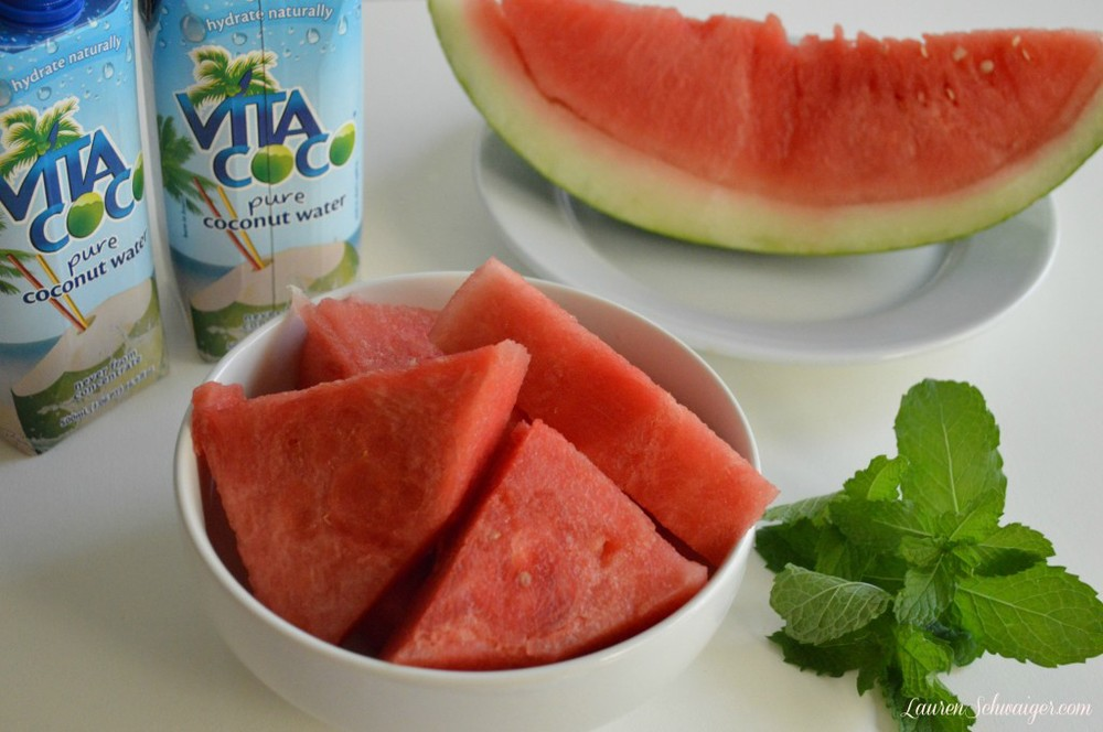 Watermelon Mint Cooler - LaurenSchwaiger.com