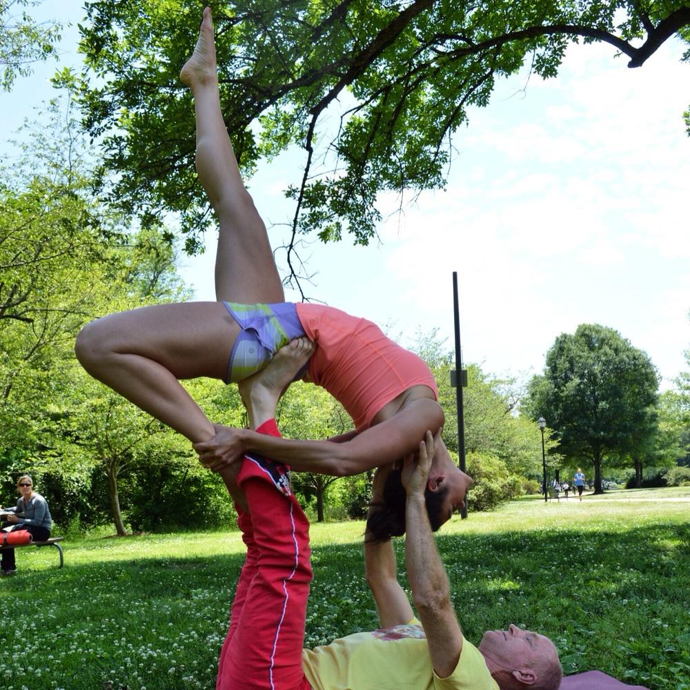 Lauren Schwaiger - Acro Yoga