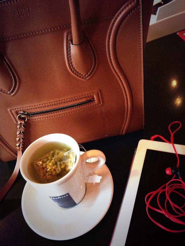 Celine,Chamomile&iPad