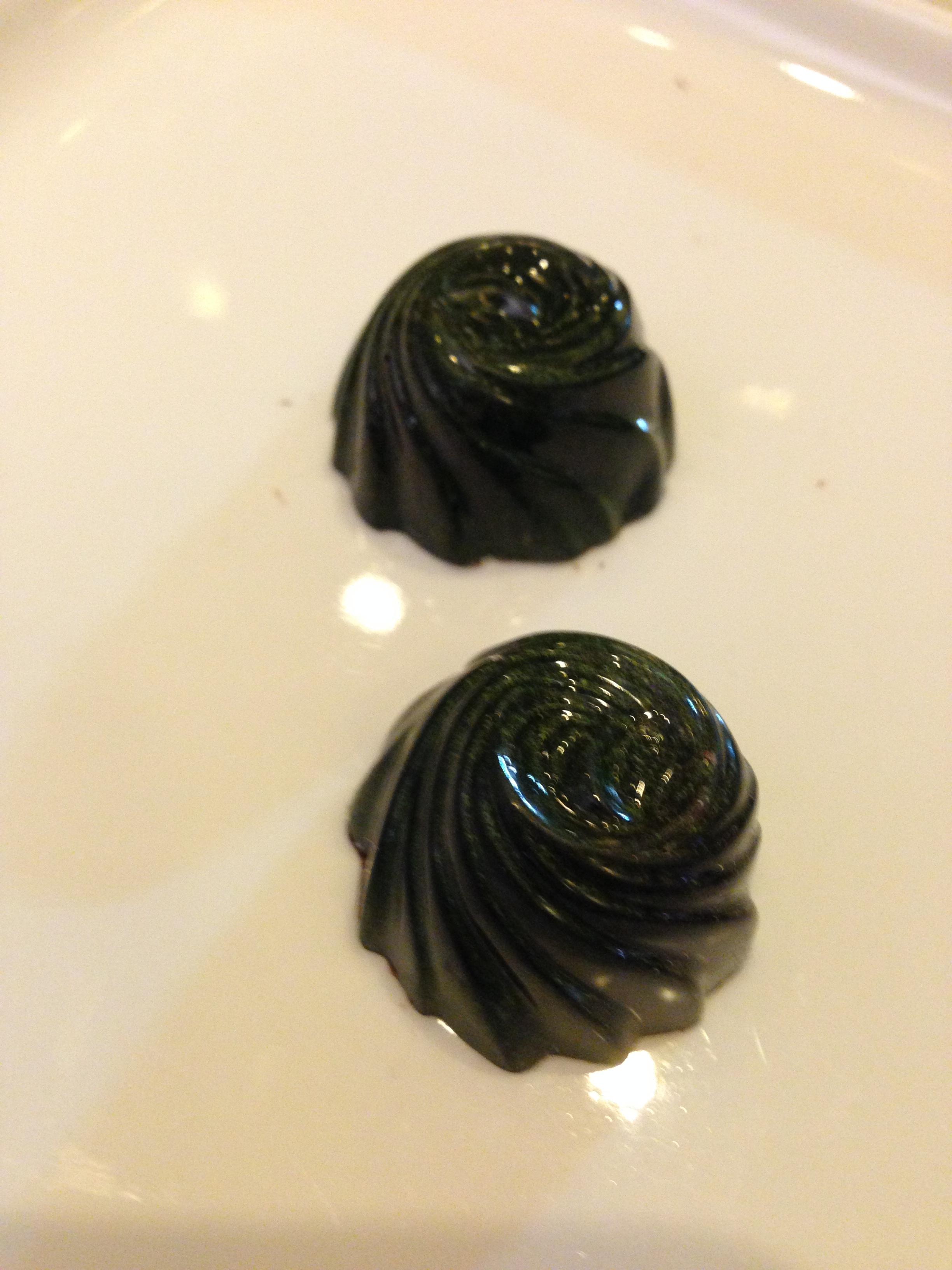 Rosemary Caramel Truffles