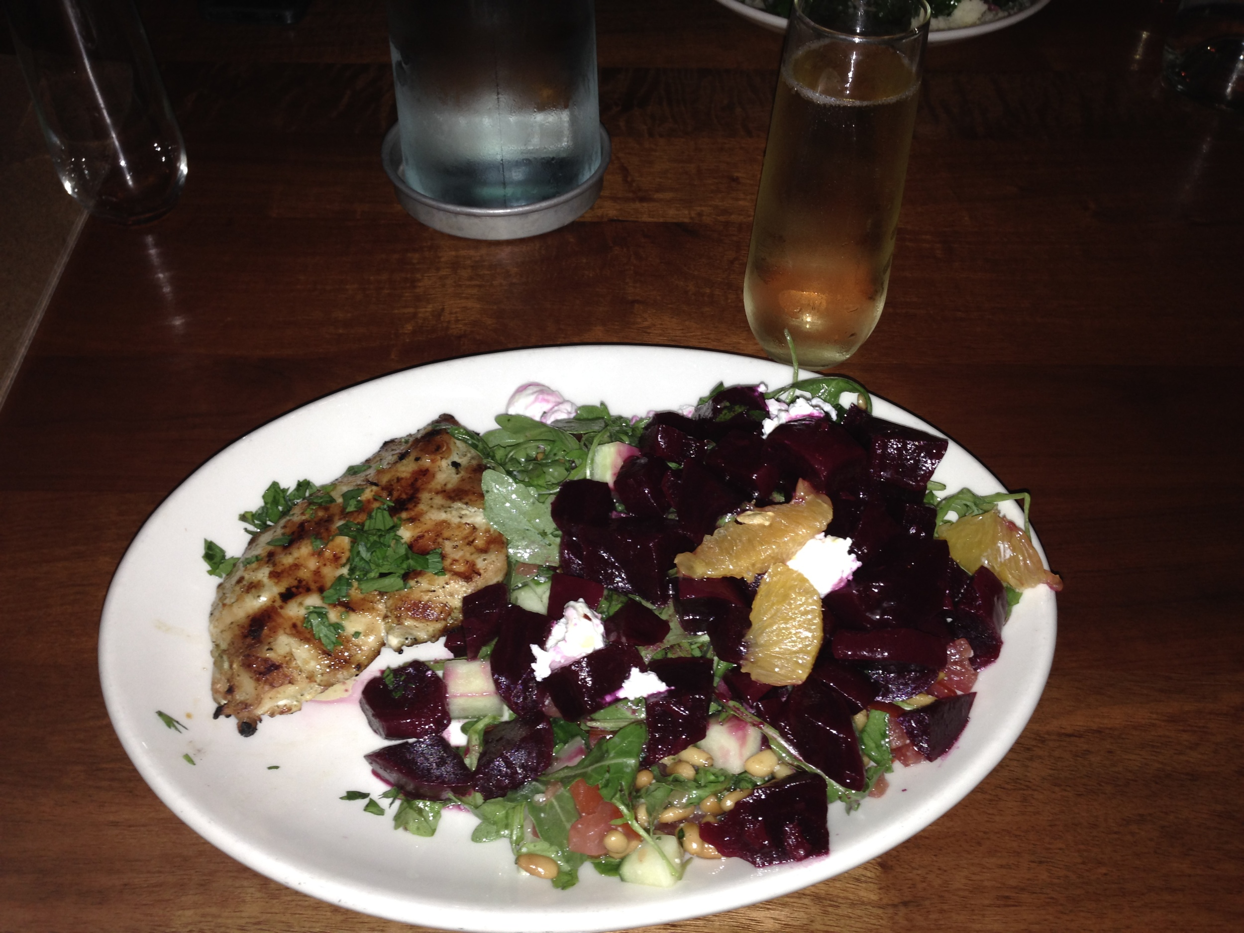 Chicken & Beet Salad