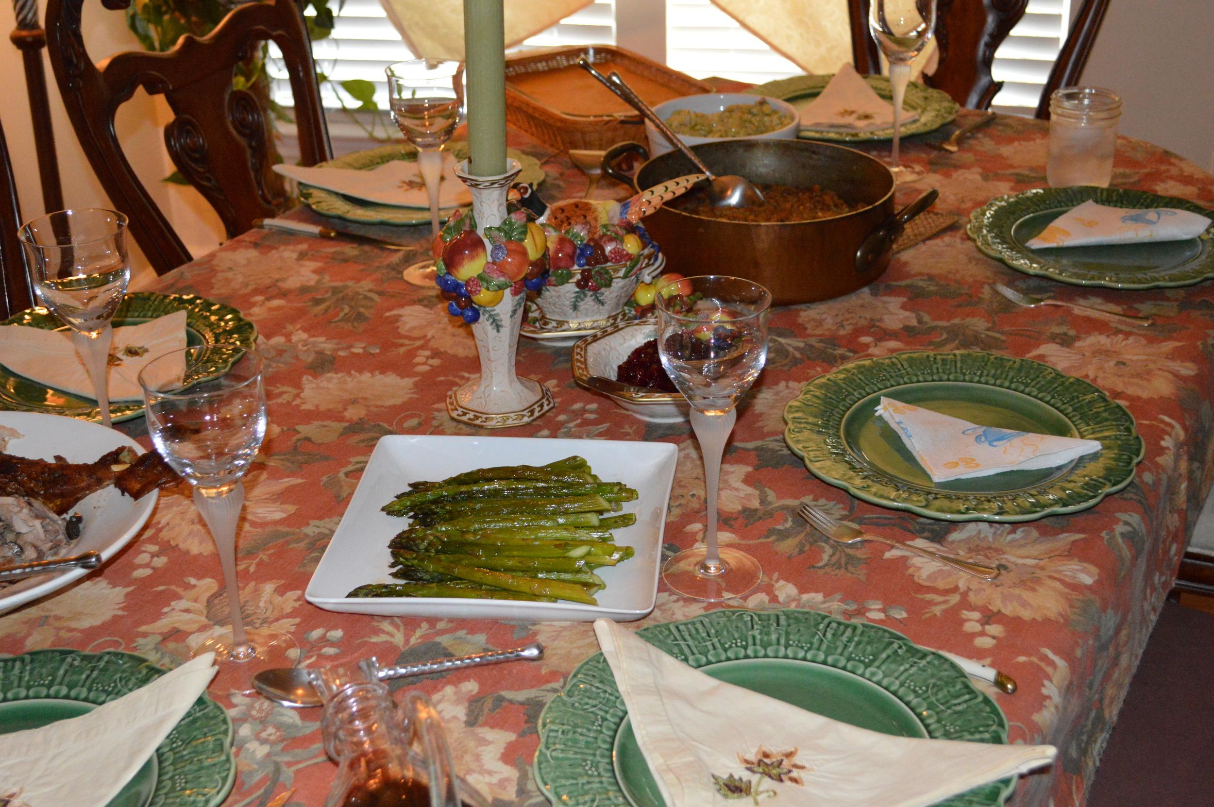 Fall Dinner Table