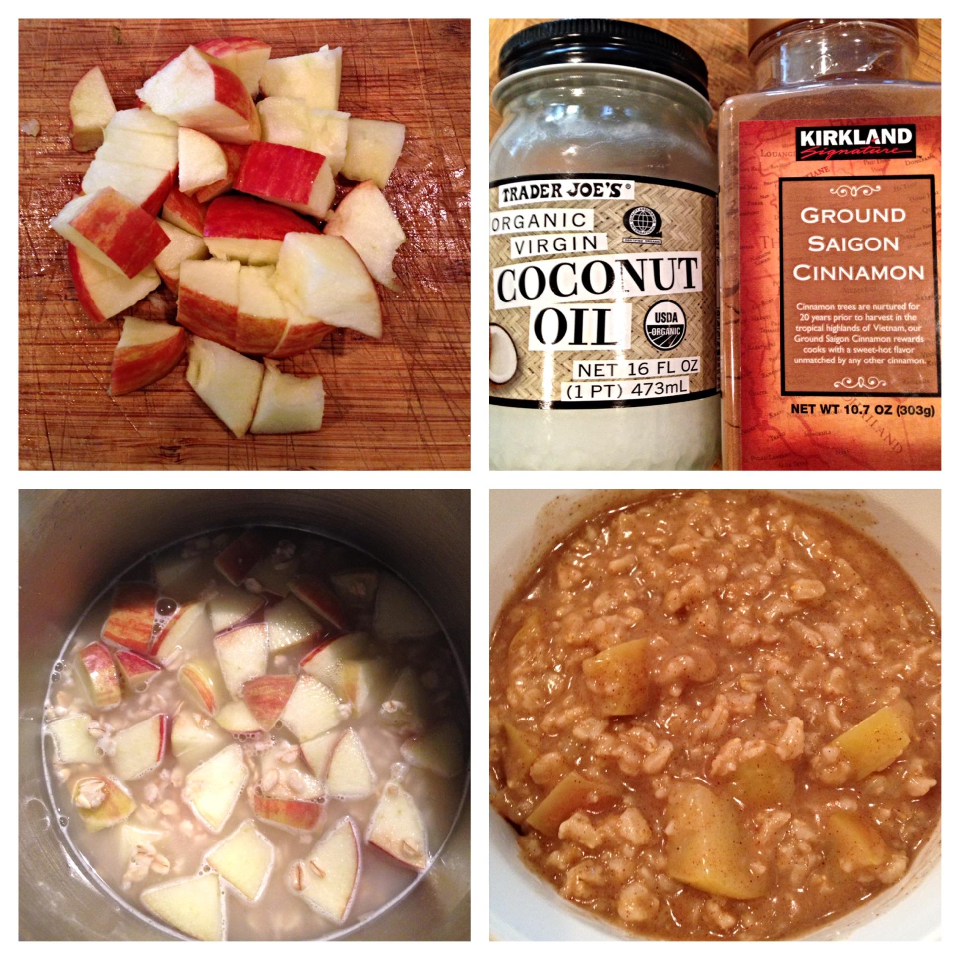 How To: Apple Cinnamon Oatmeal