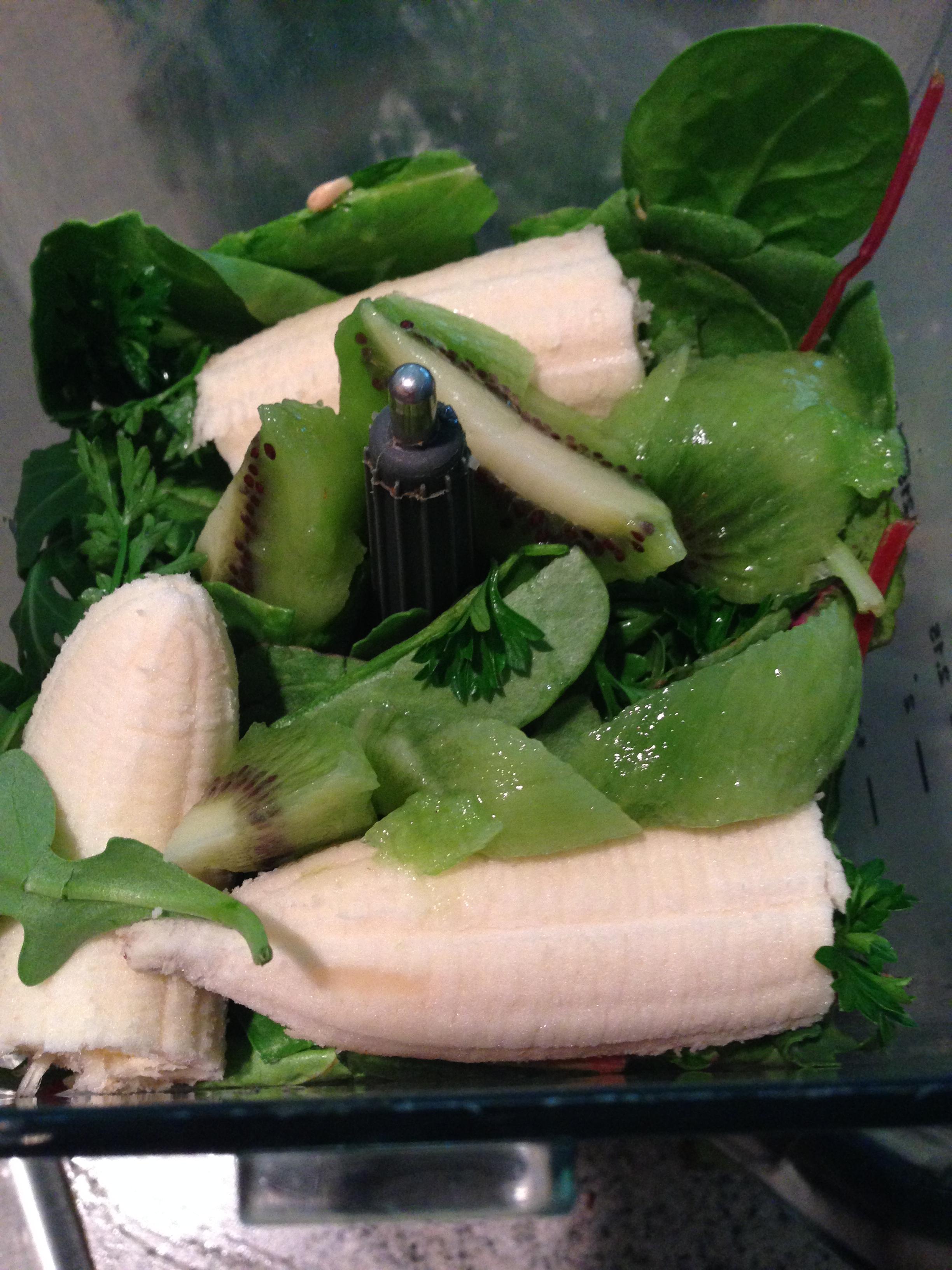 Green Smoothie Ingredients