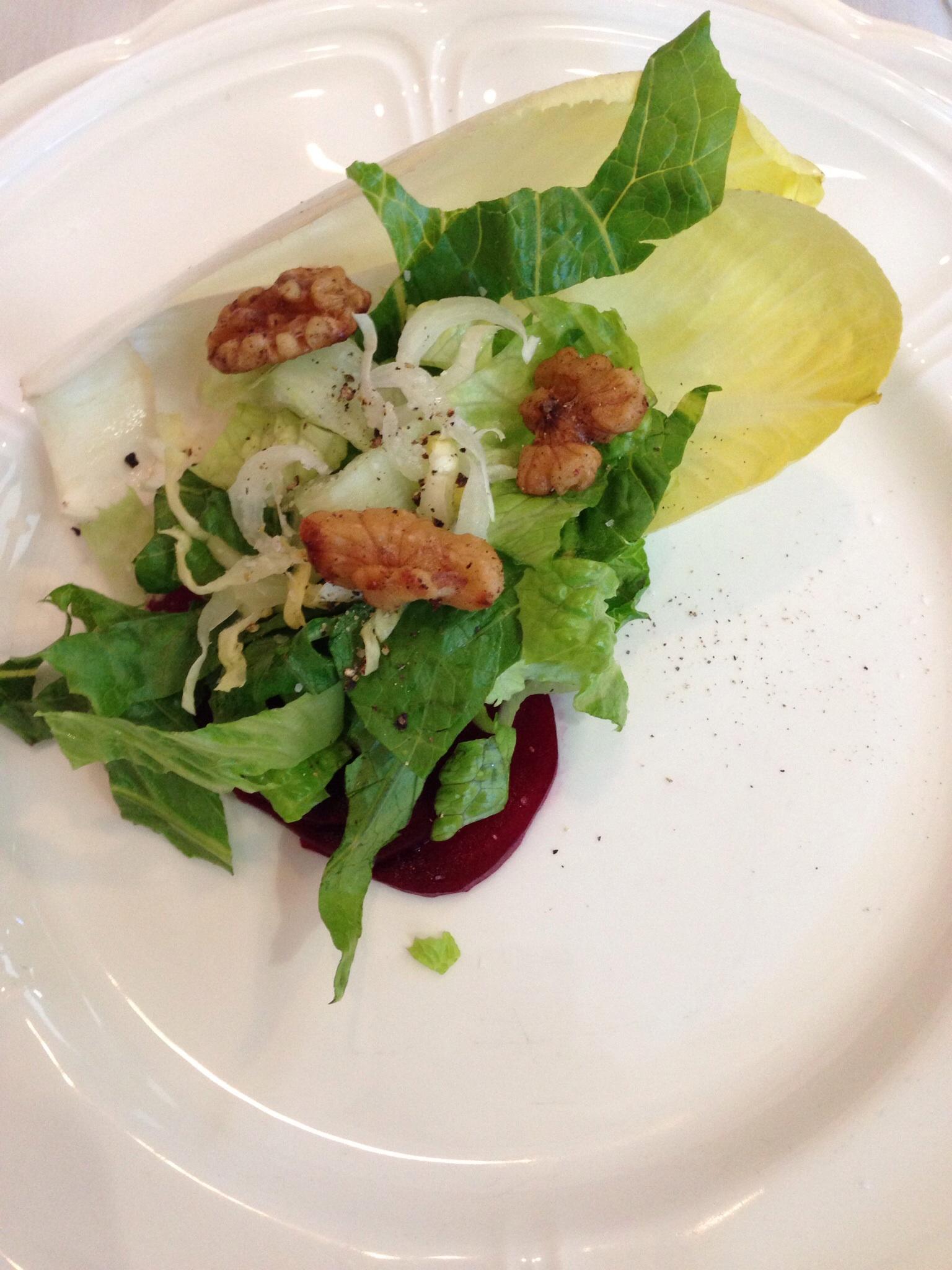 Endive & Romaine Salad