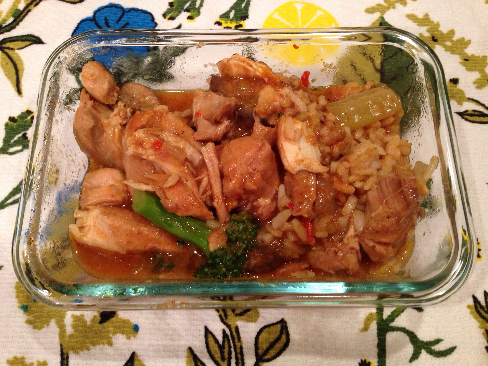 Chicken & Brown Rice
