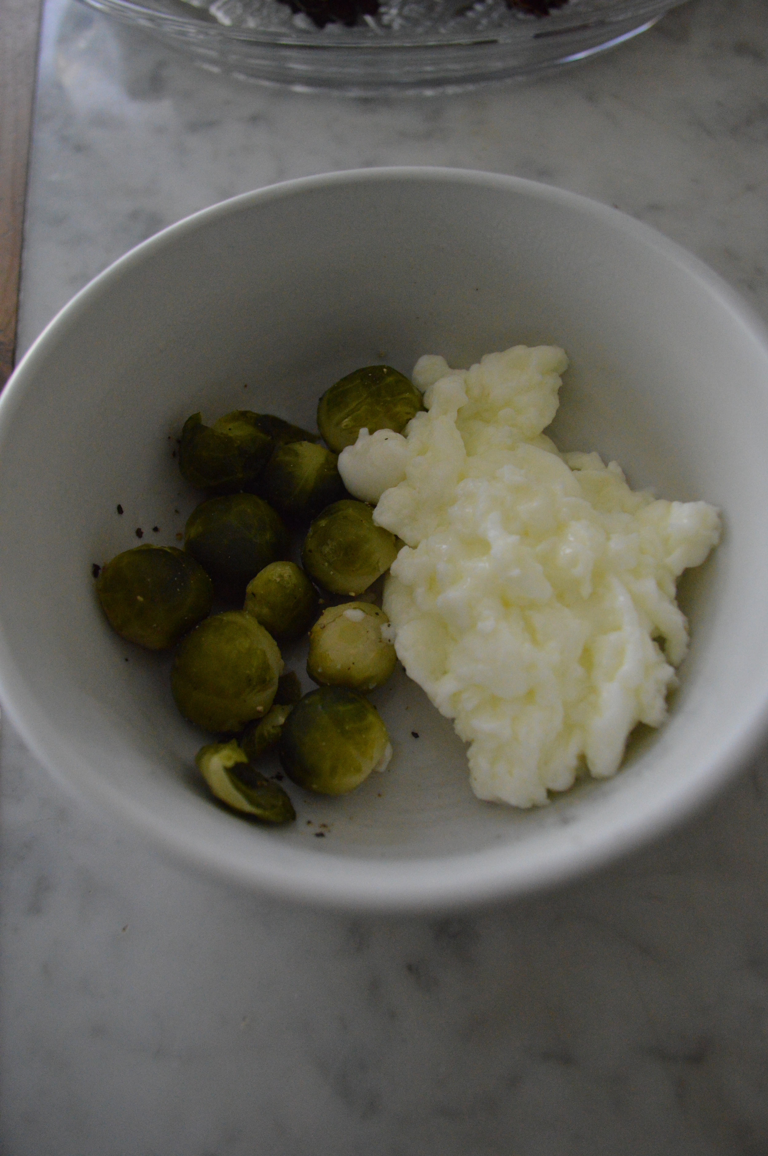 Egg Whites & Brussels Sprouts