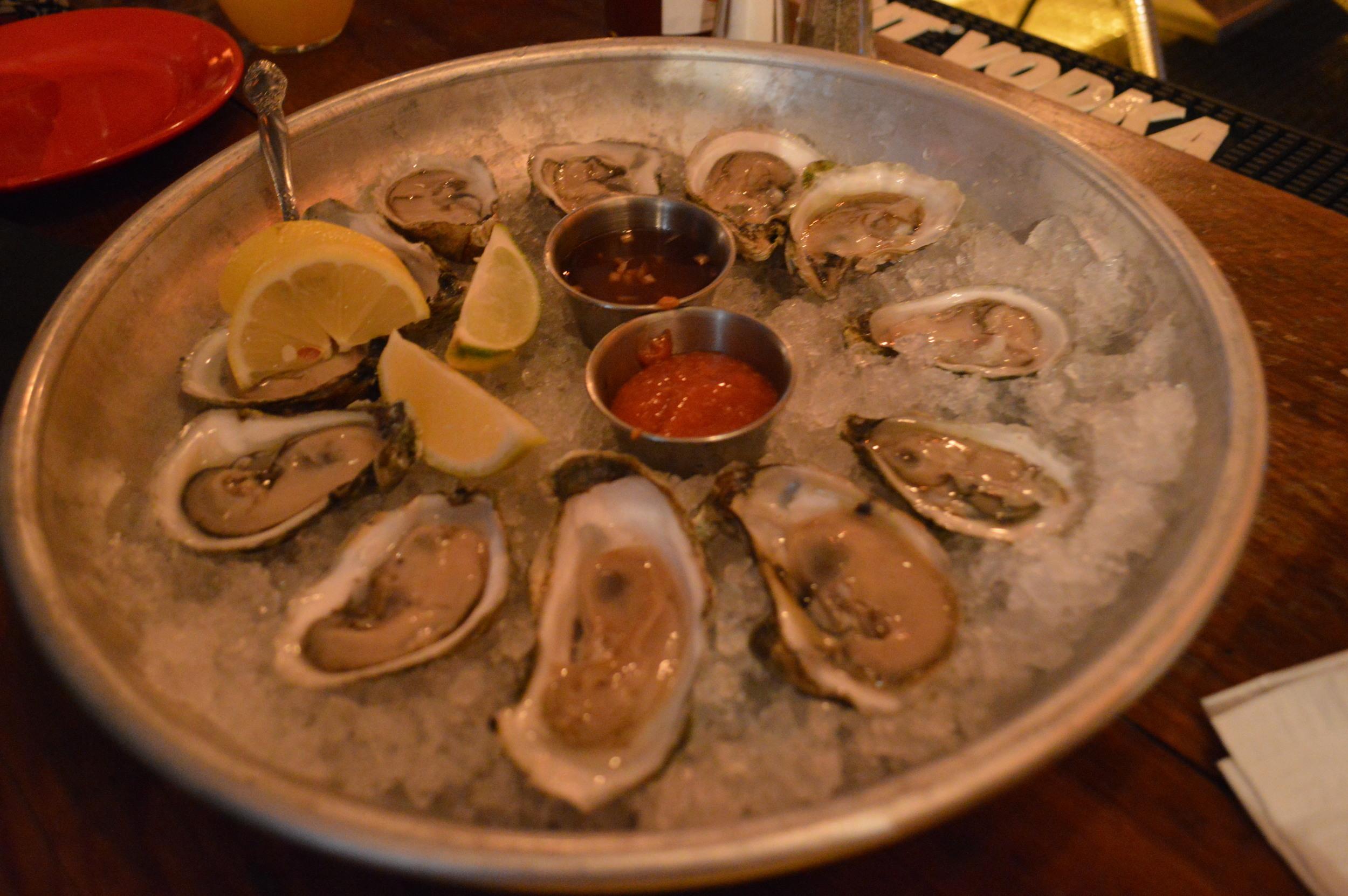 Malt House Oysters