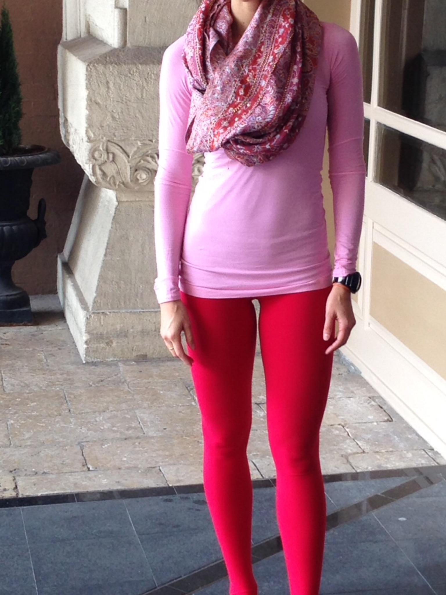 Lulu Lemon - Pink & Red