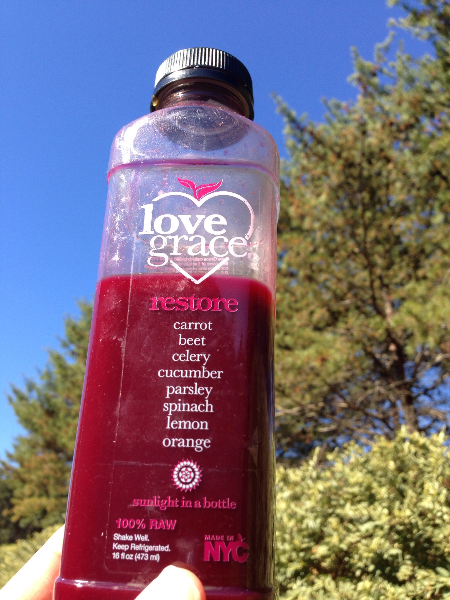 Love Grace Restore Juice