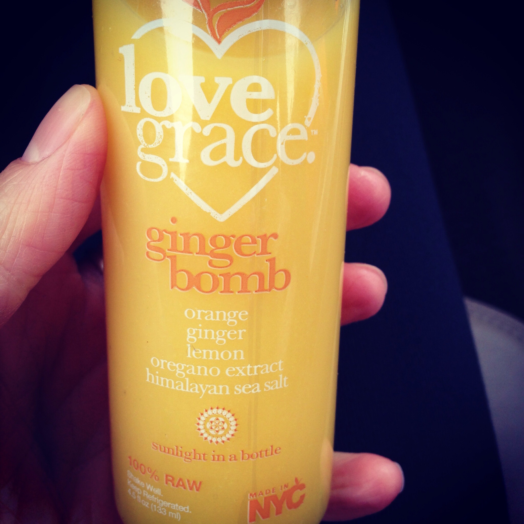 Love Grace Ginger Bomb