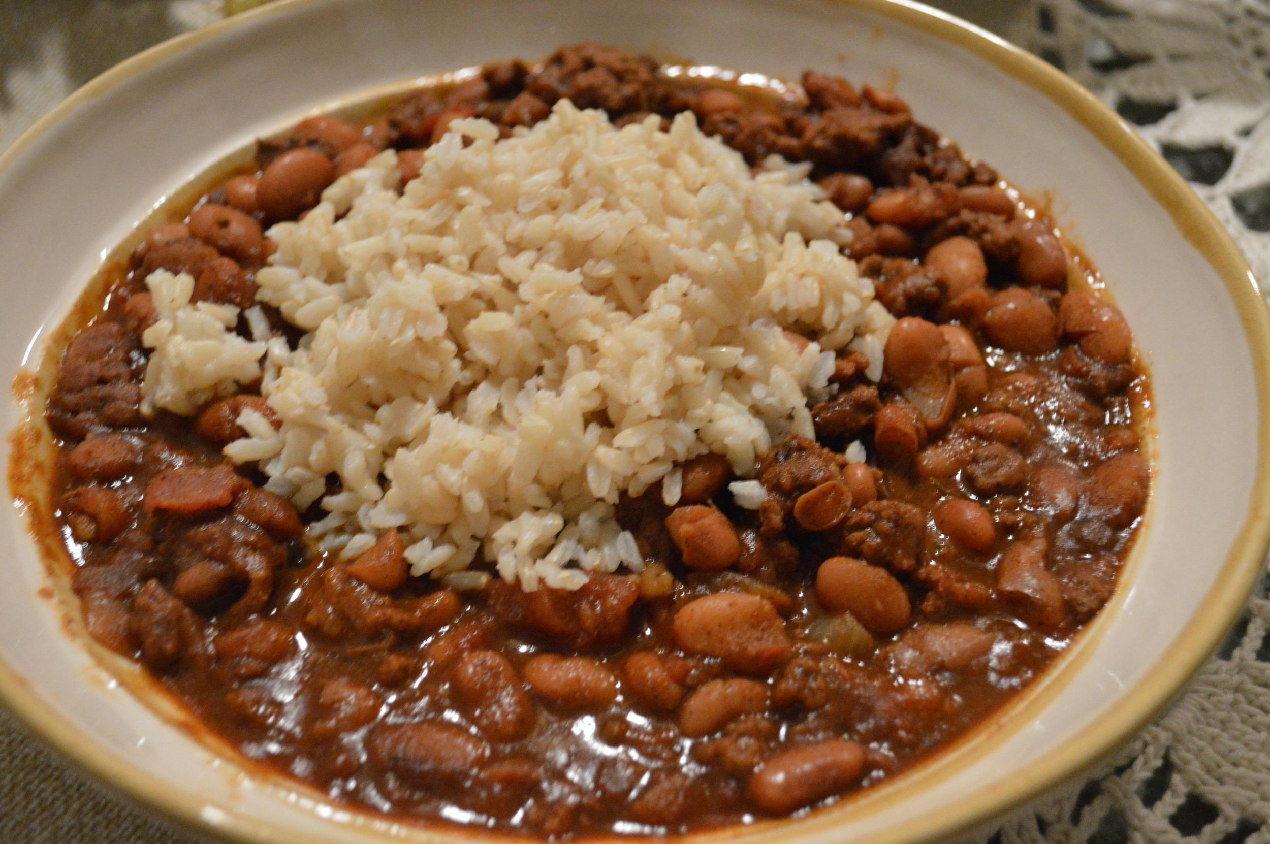Chili + Brown Rice