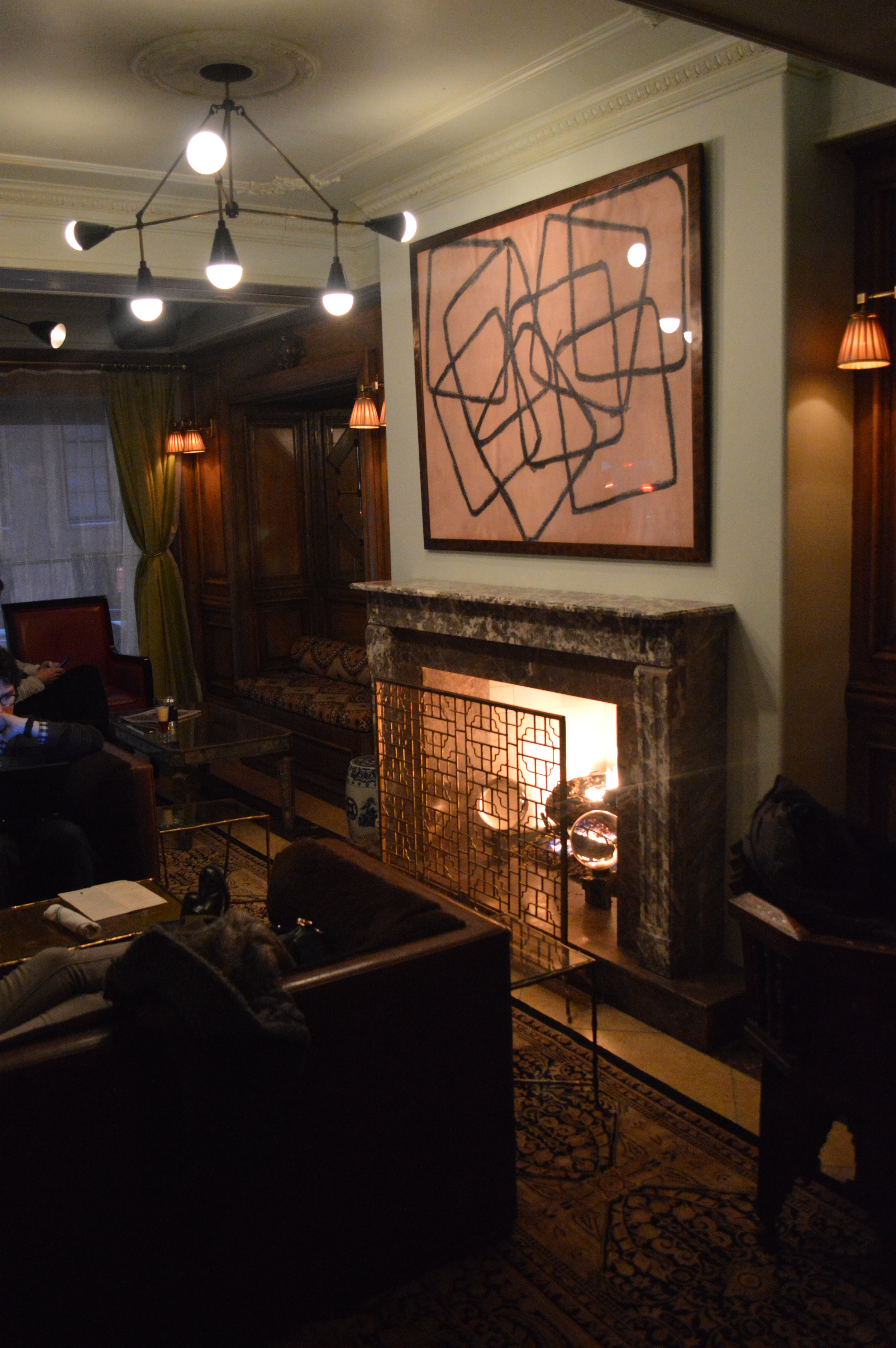 The Marlton Fireplace