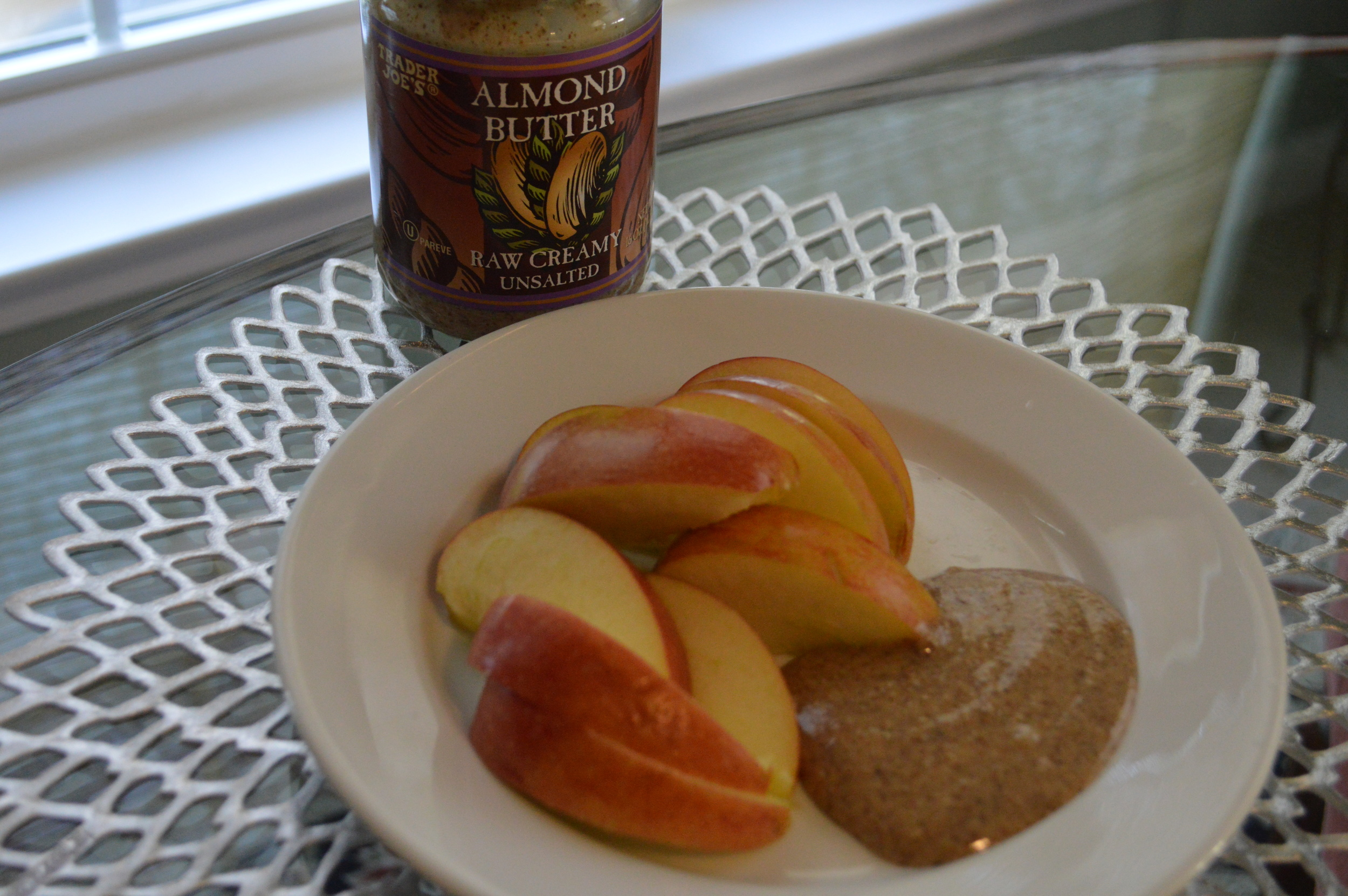 Apple + Almond Butter