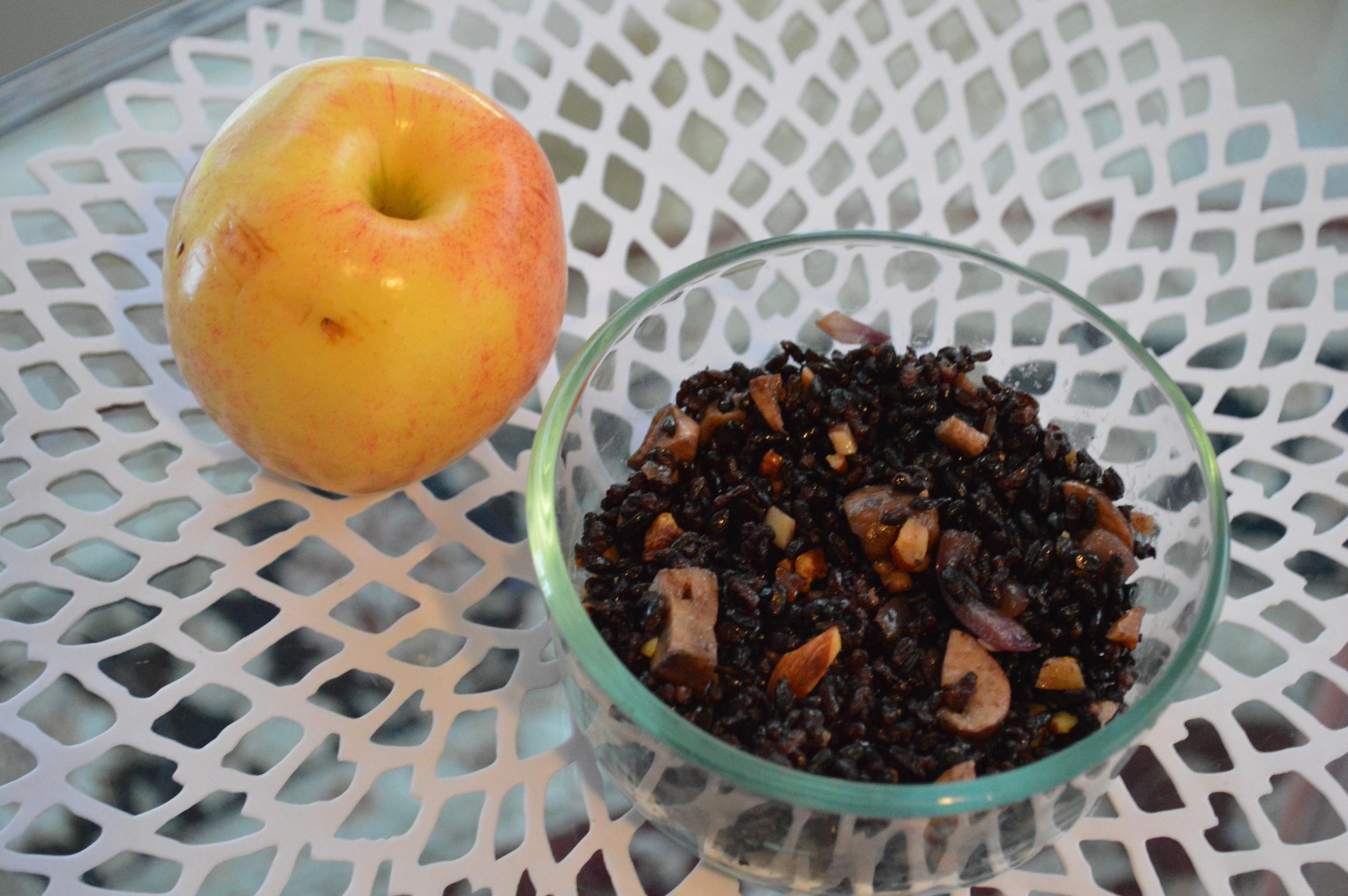 Black Rice + Apple Snack