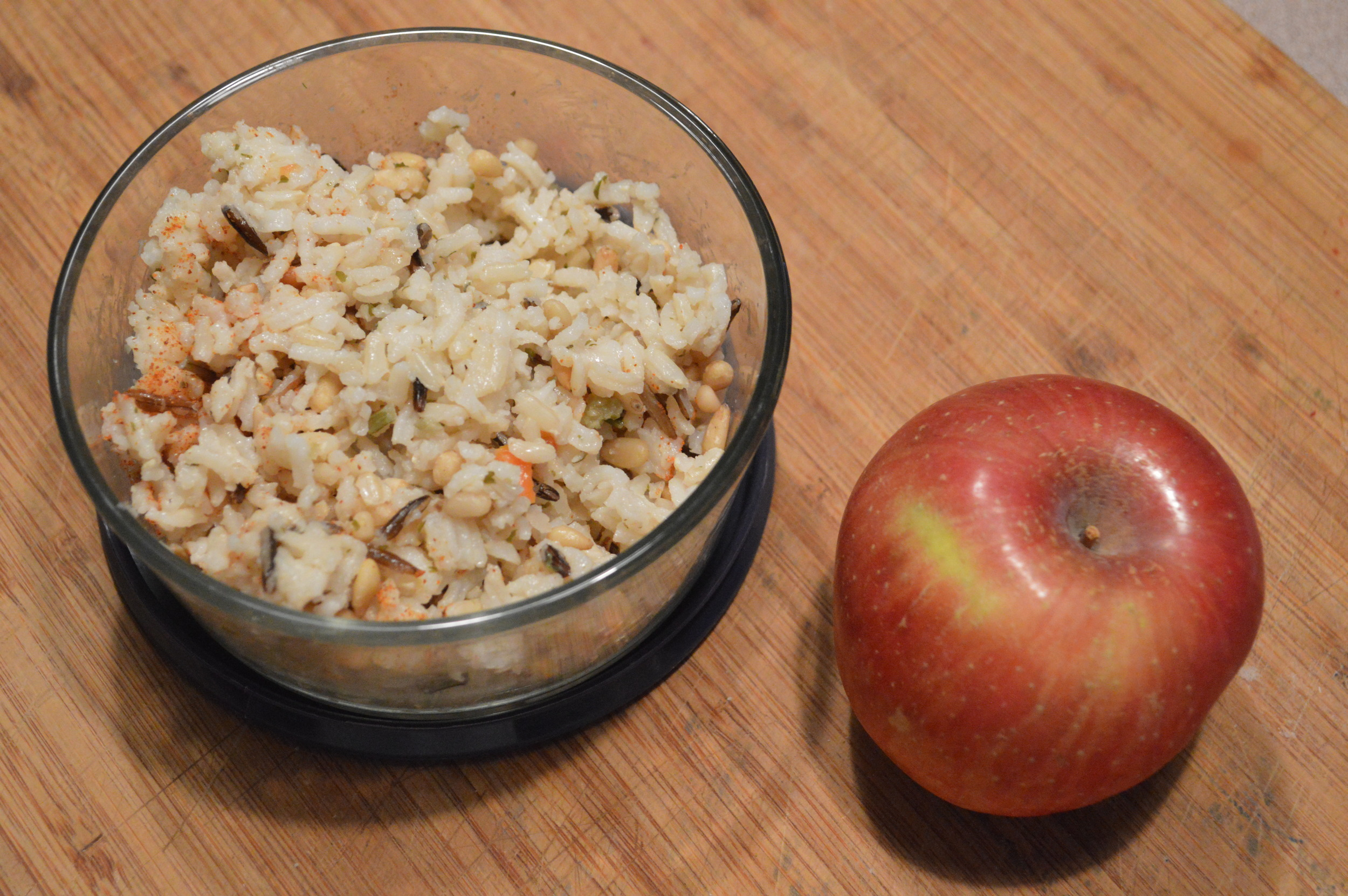 Brown Rice + Gala Apple