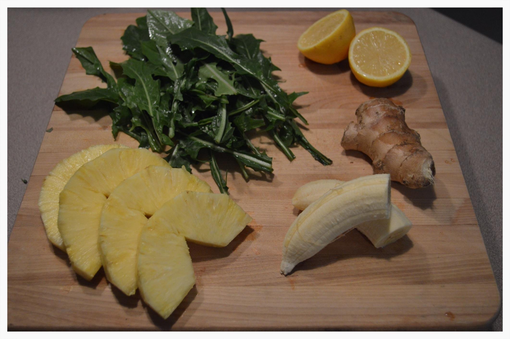 Dandelion Greens Smoothie Recipe