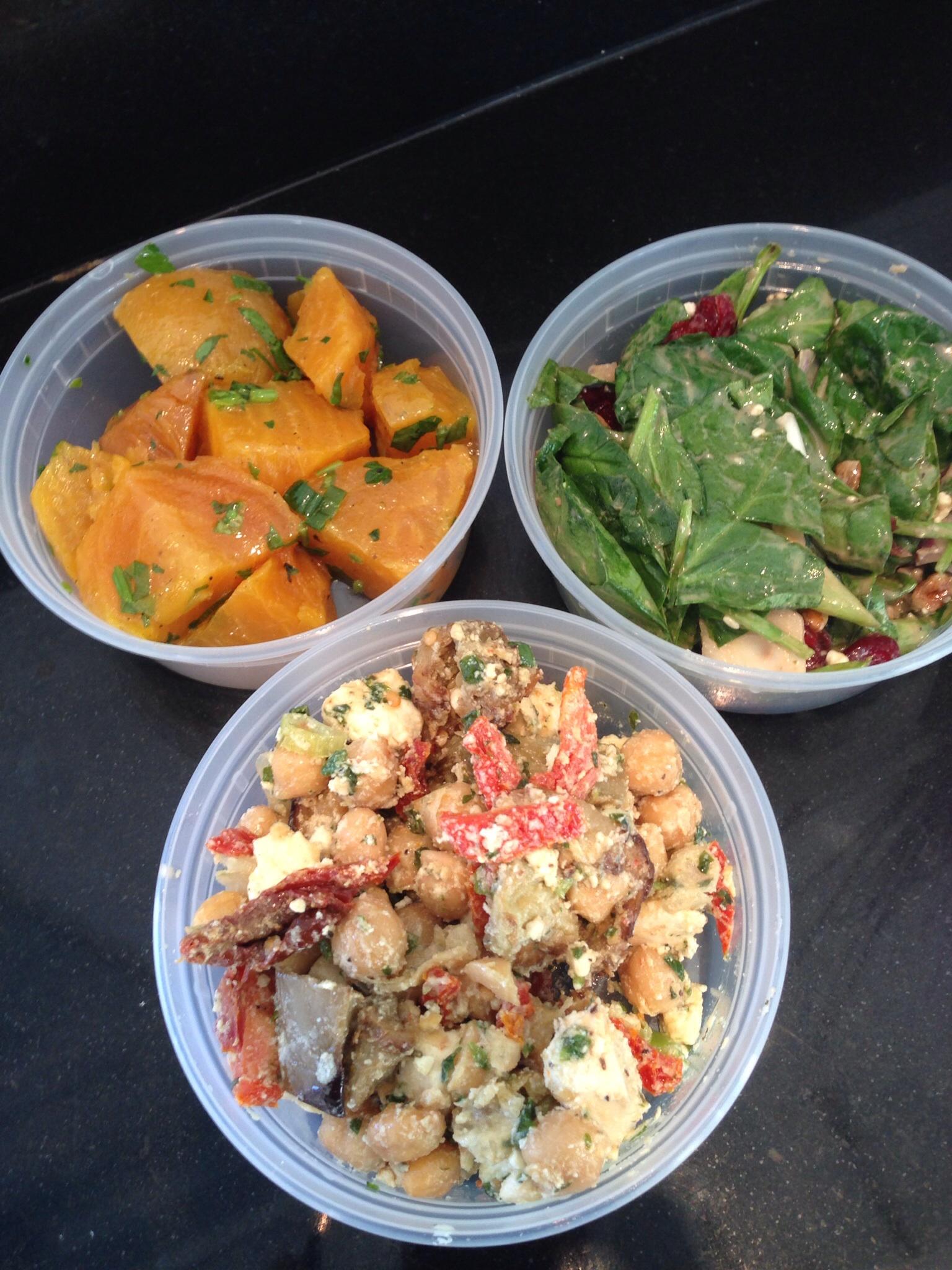 Dean & Deluca Lunch Salads