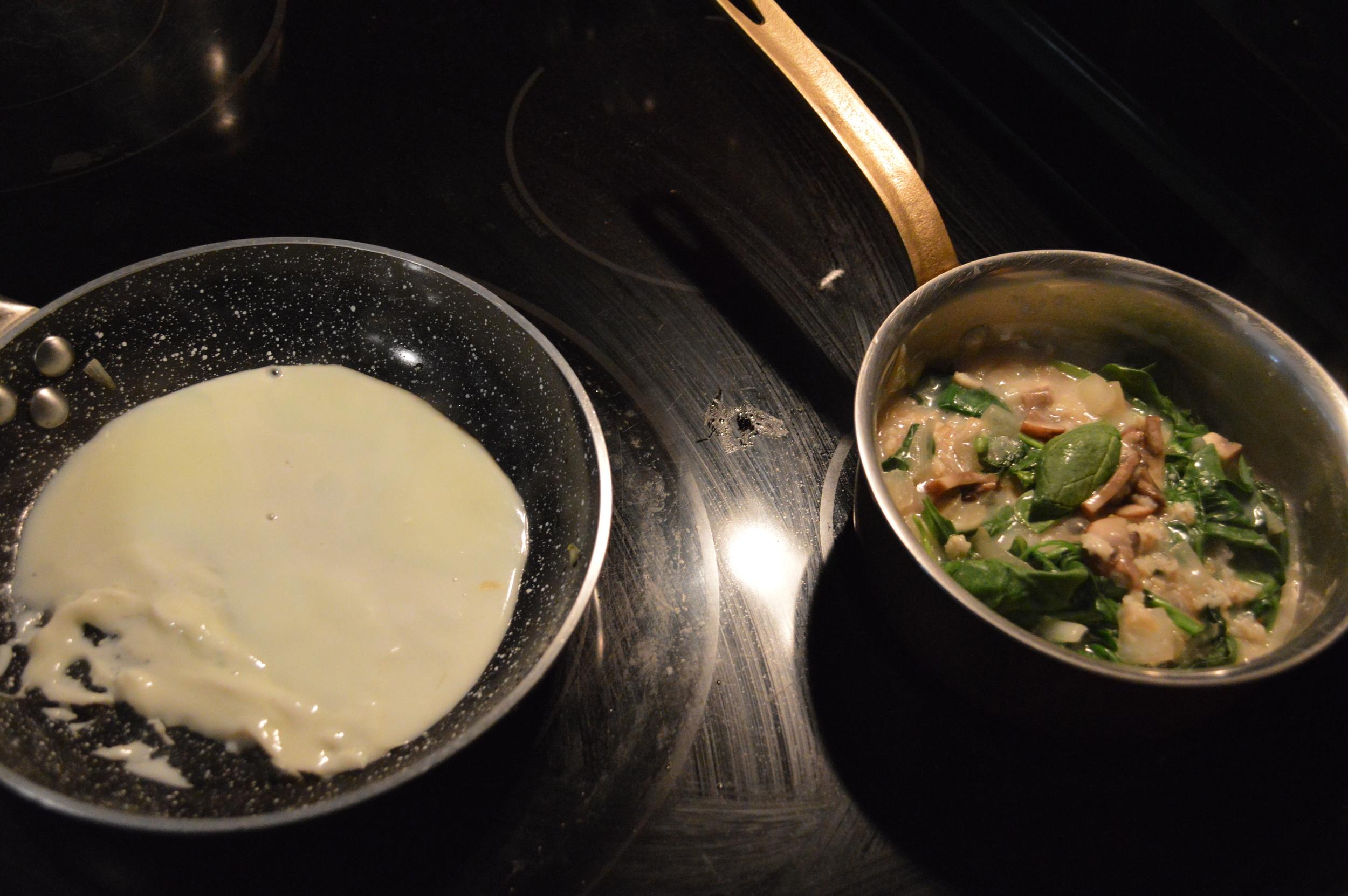 Egg Whites - Savory Oatmeal Ingredients