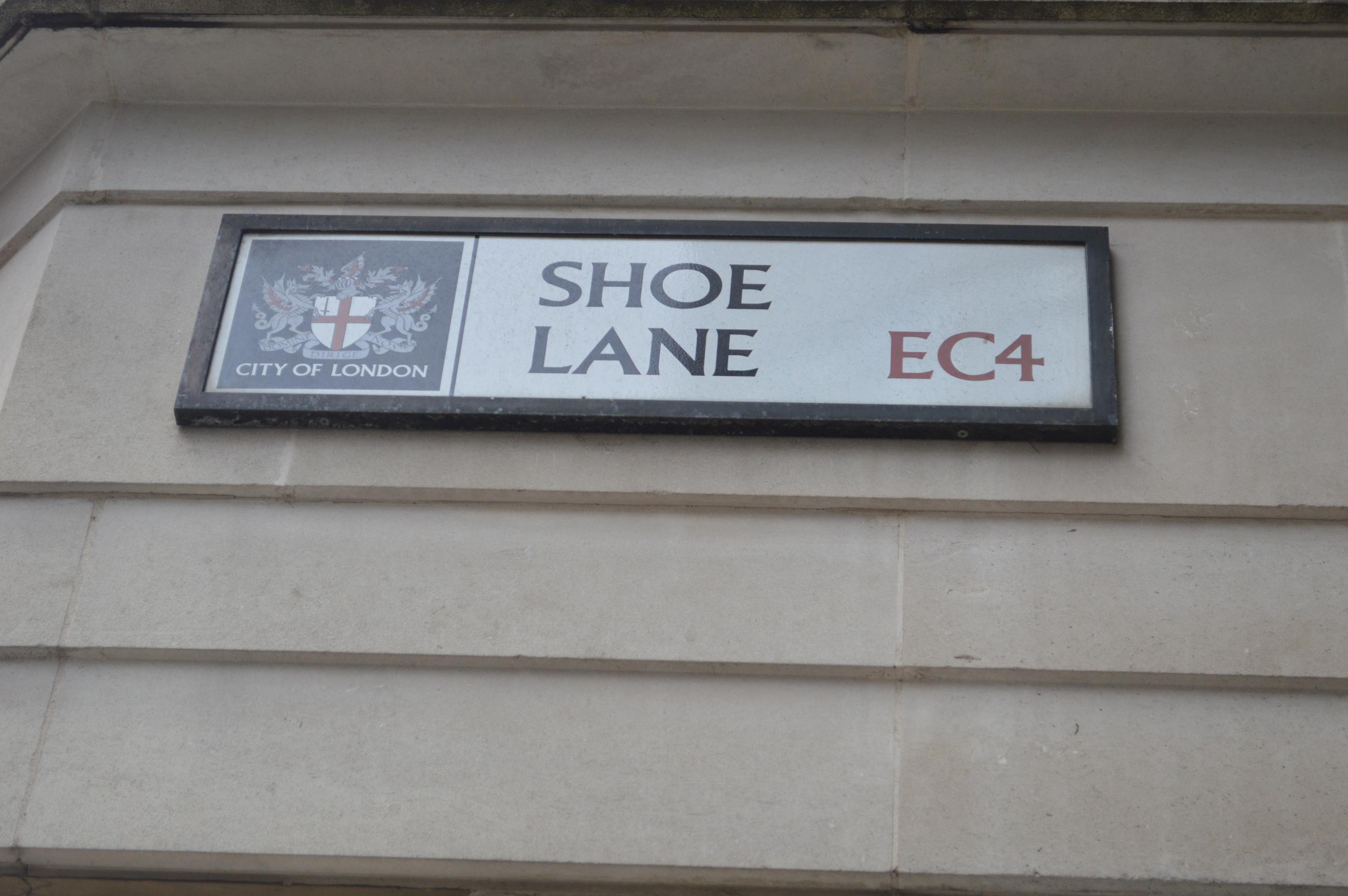 Shoe Lane - London