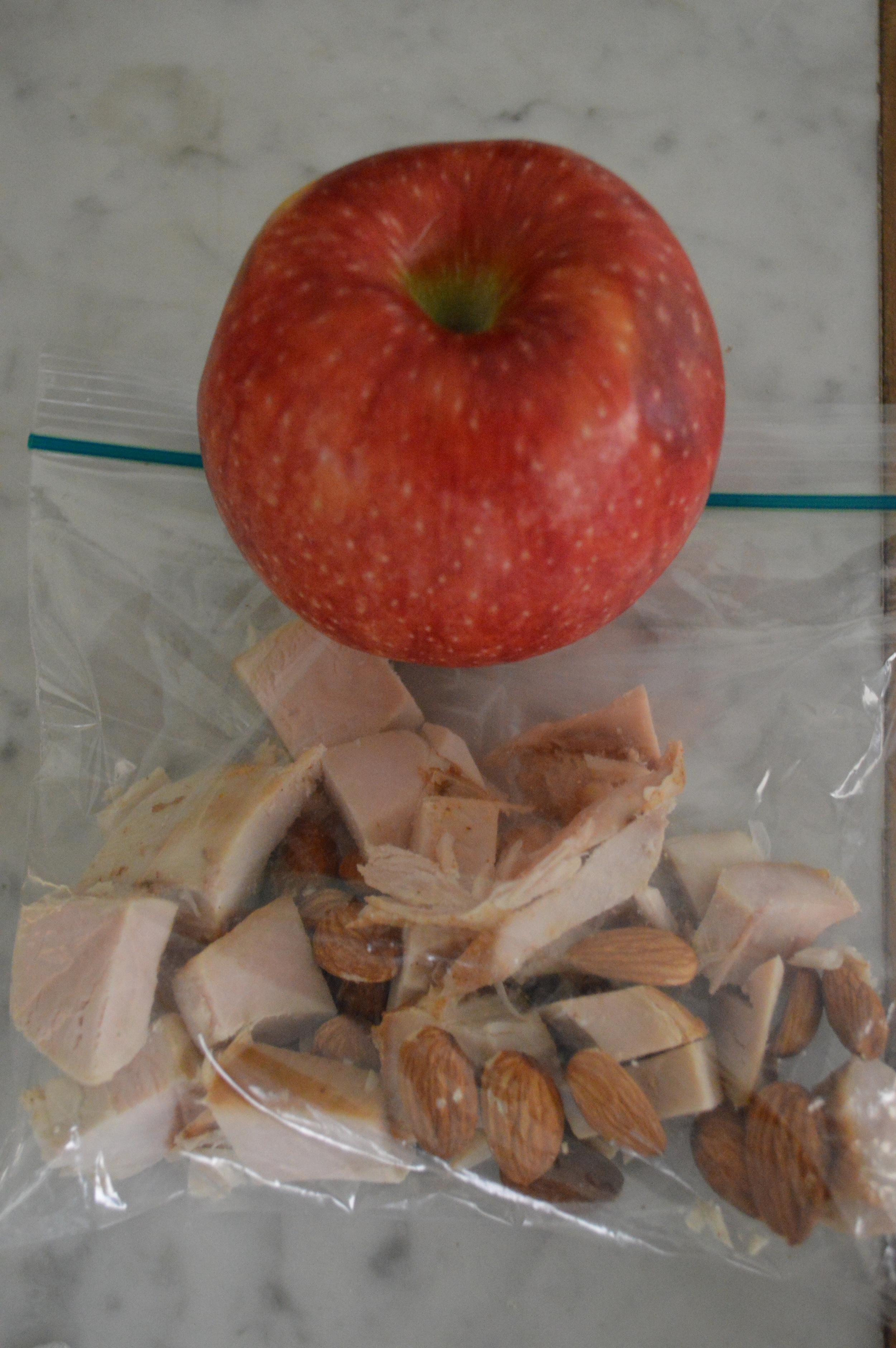Turkey + Apple Snack