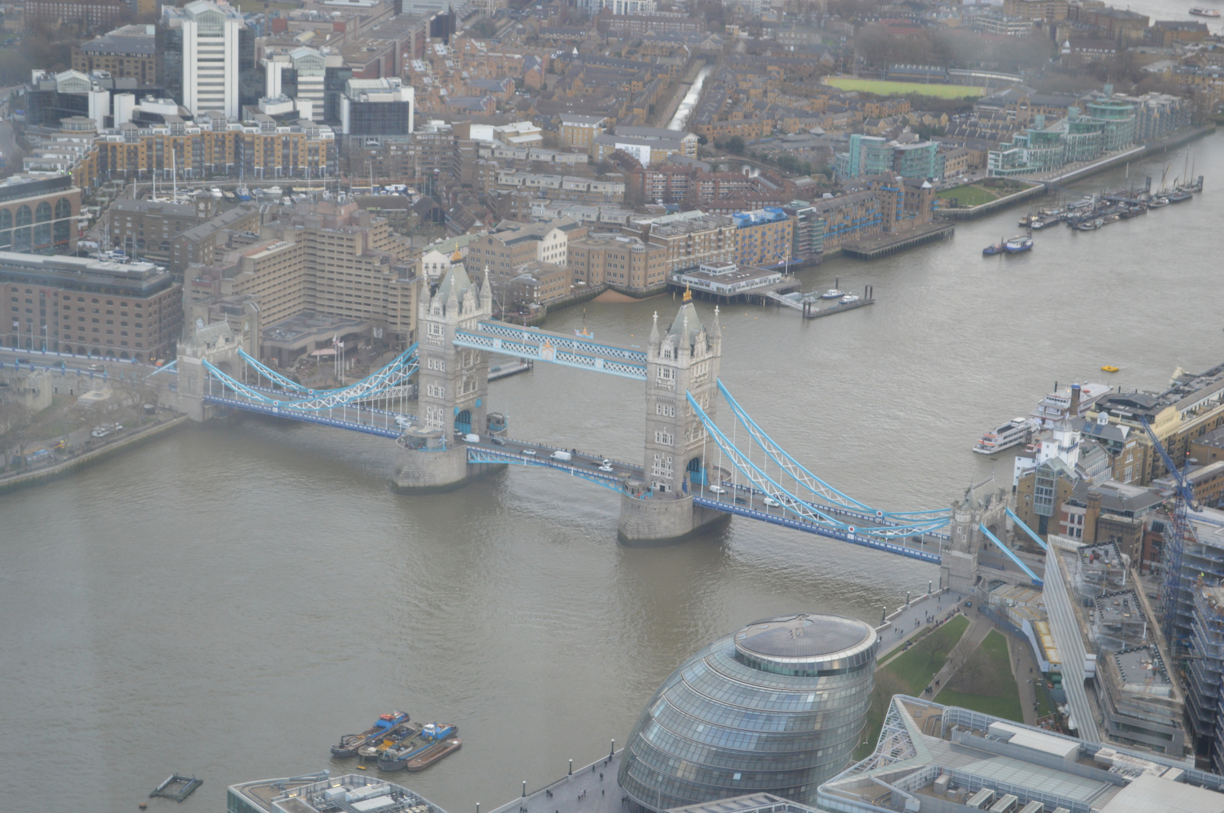 The View From The Shard - The Tower Bridge