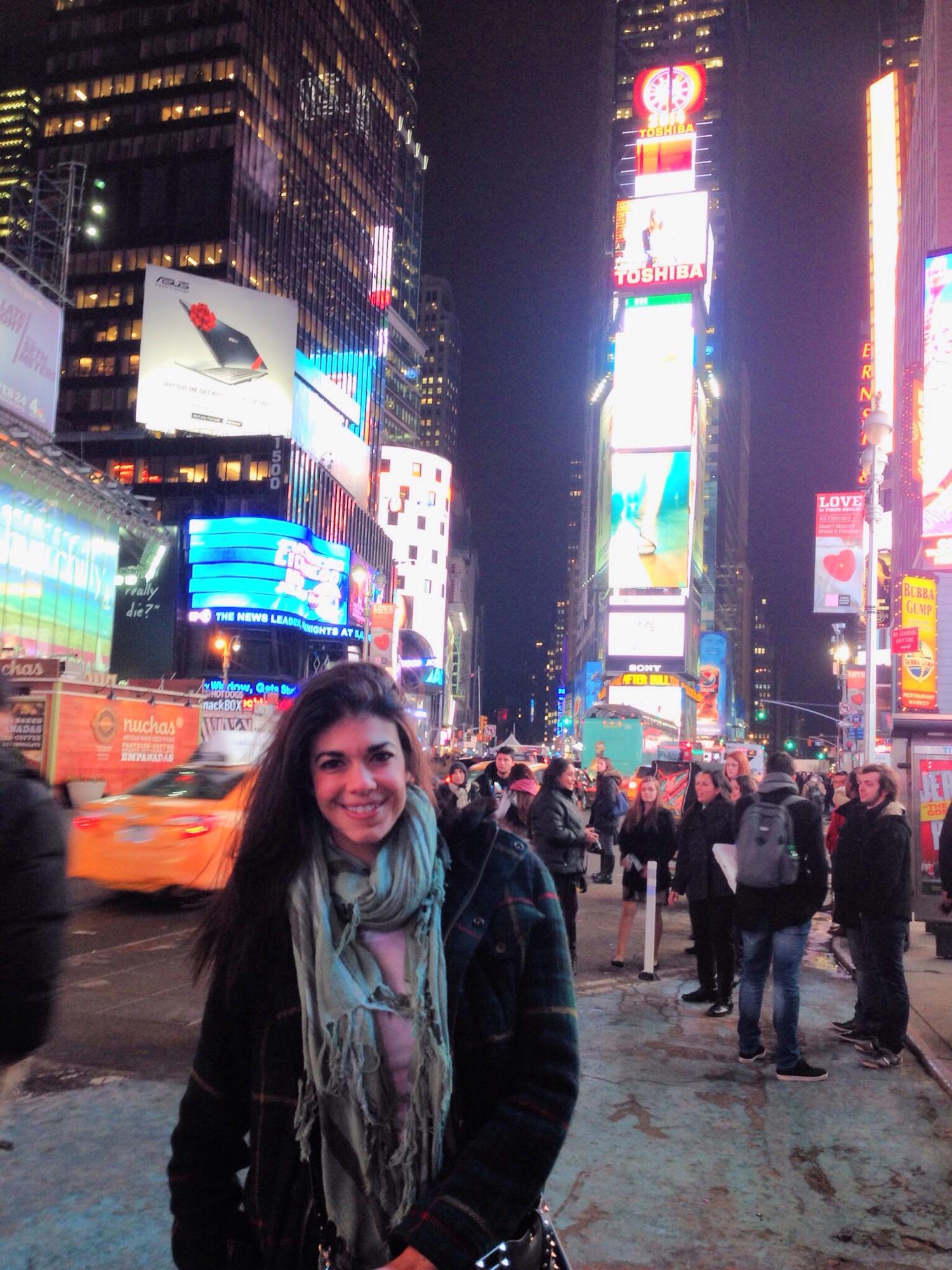 Times Square -  Lauren schwaiger